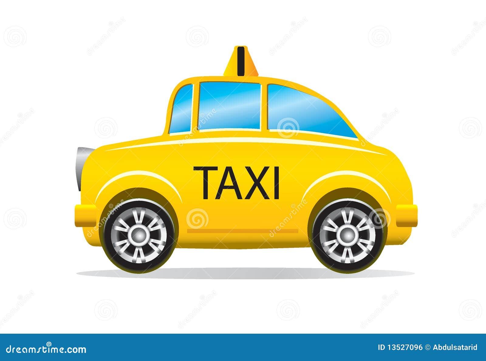 jaunissez le taxi de taxi illustration stock illustration du details 13527096. Black Bedroom Furniture Sets. Home Design Ideas