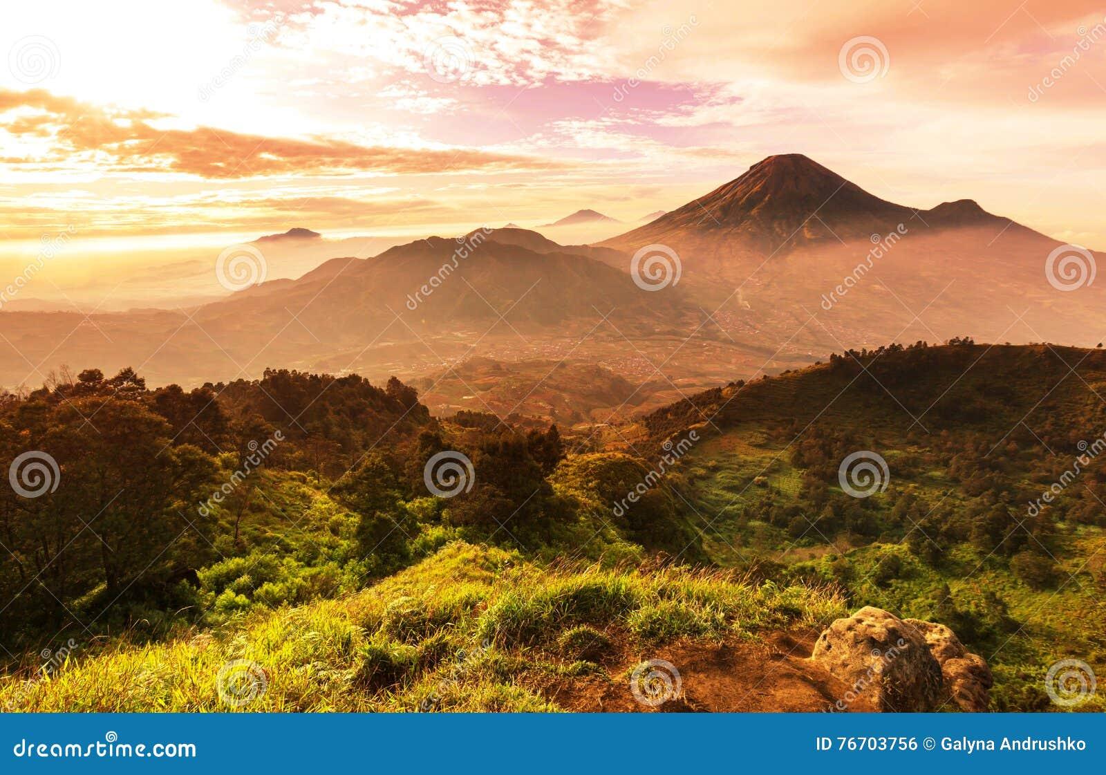Java landskap