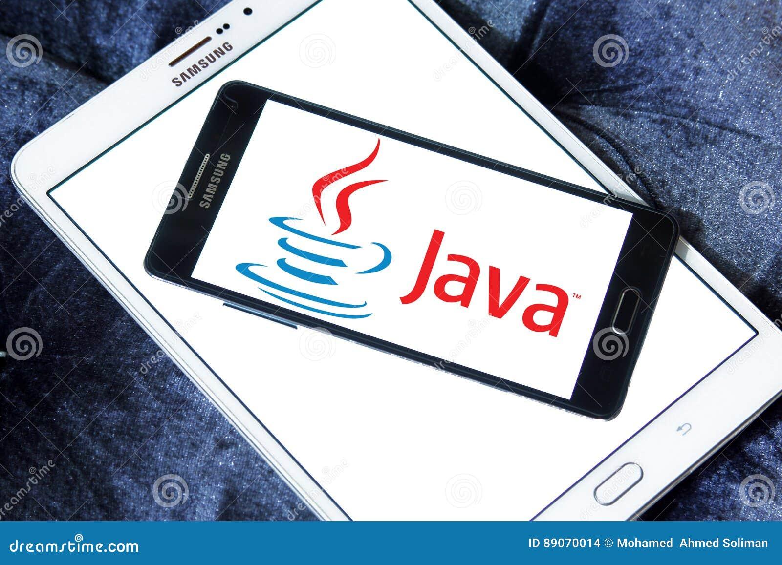 Java logo editorial stock image  Image of programming - 89070014