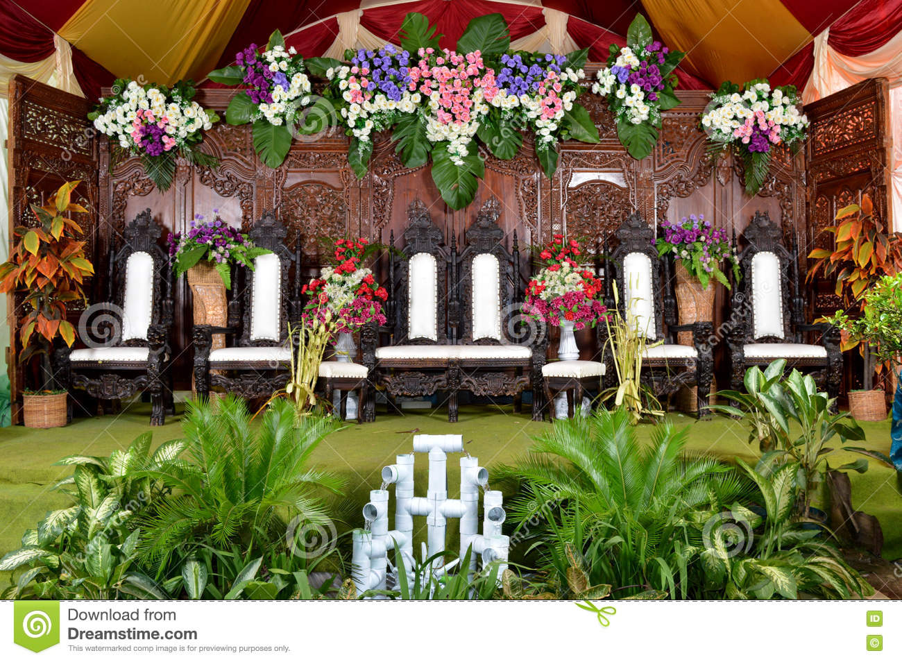 java wedding decoration dekorasi pernikahan jawa