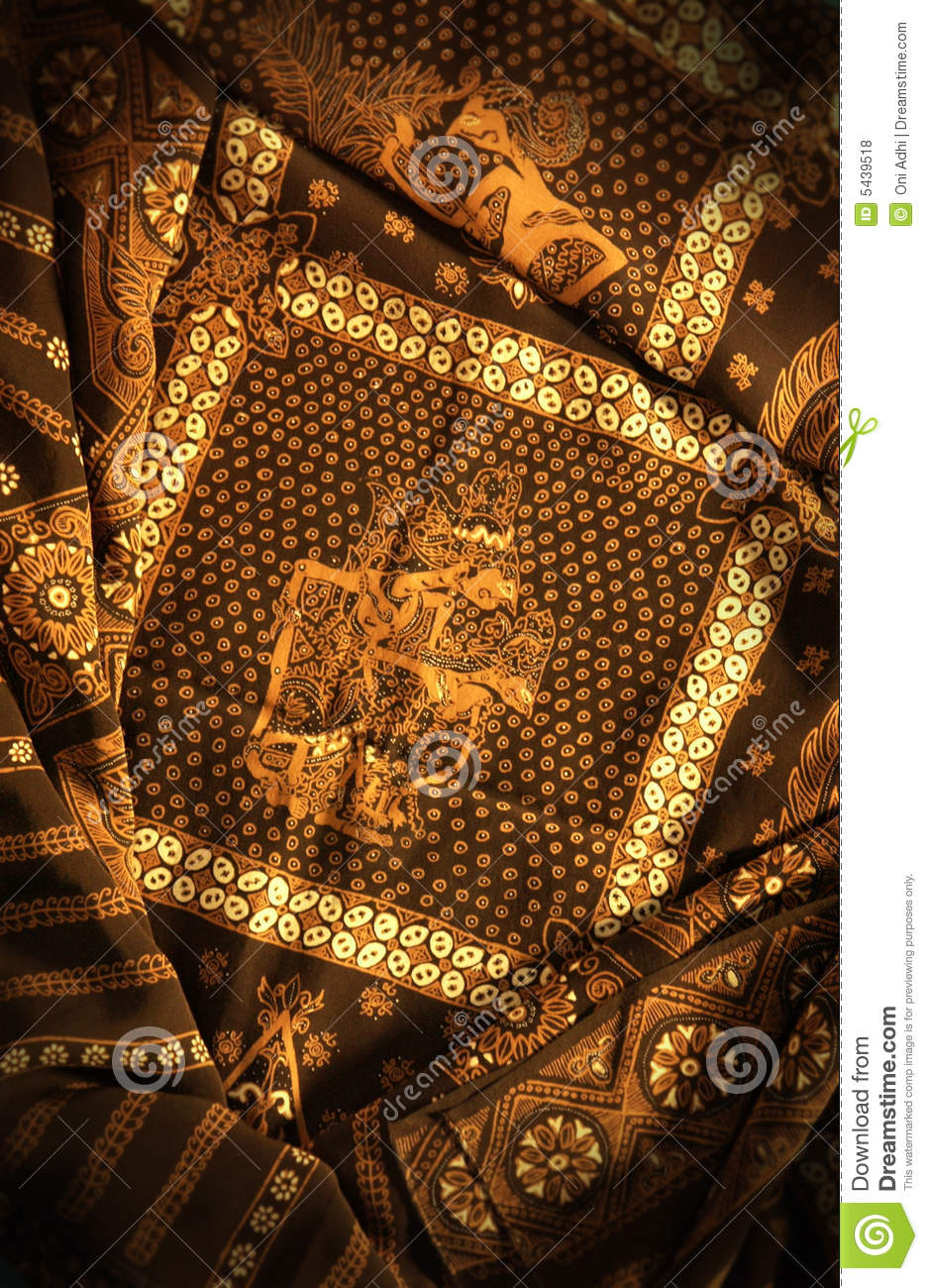 Download Javanese batik painting stock photo. Image of colours - 5439518