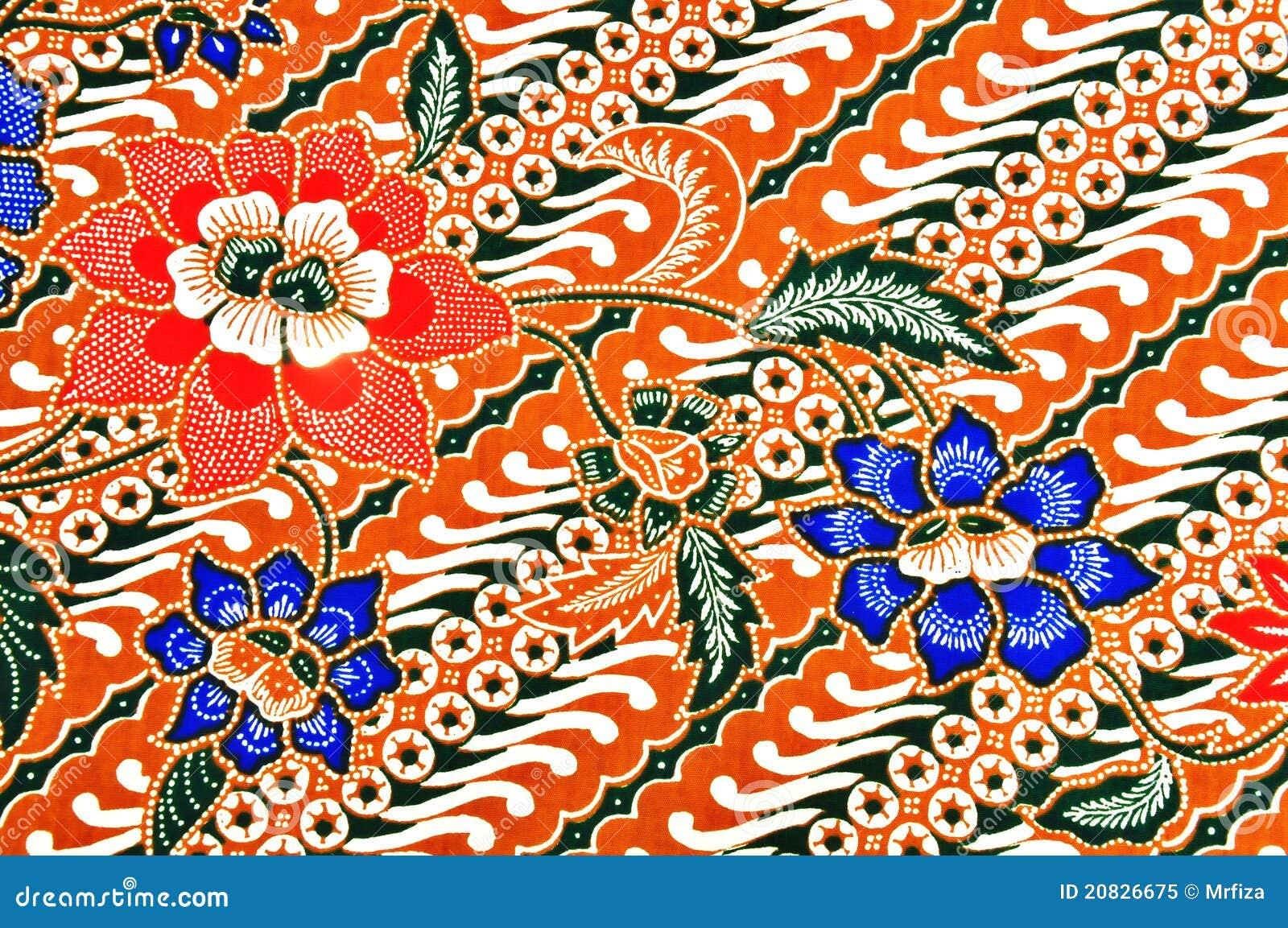 Javanese Batik Pattern Royalty Free Stock Photo - Image: 20826675