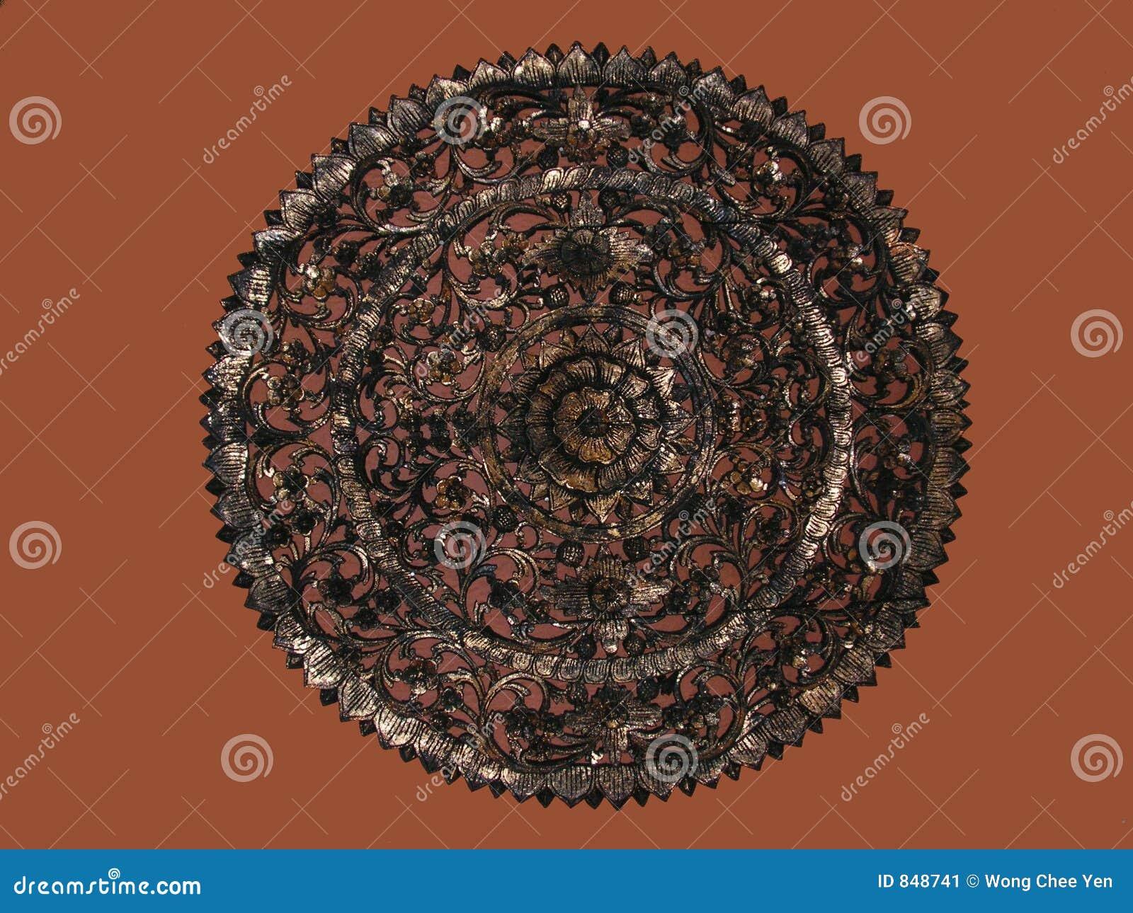 Javanese circle carving