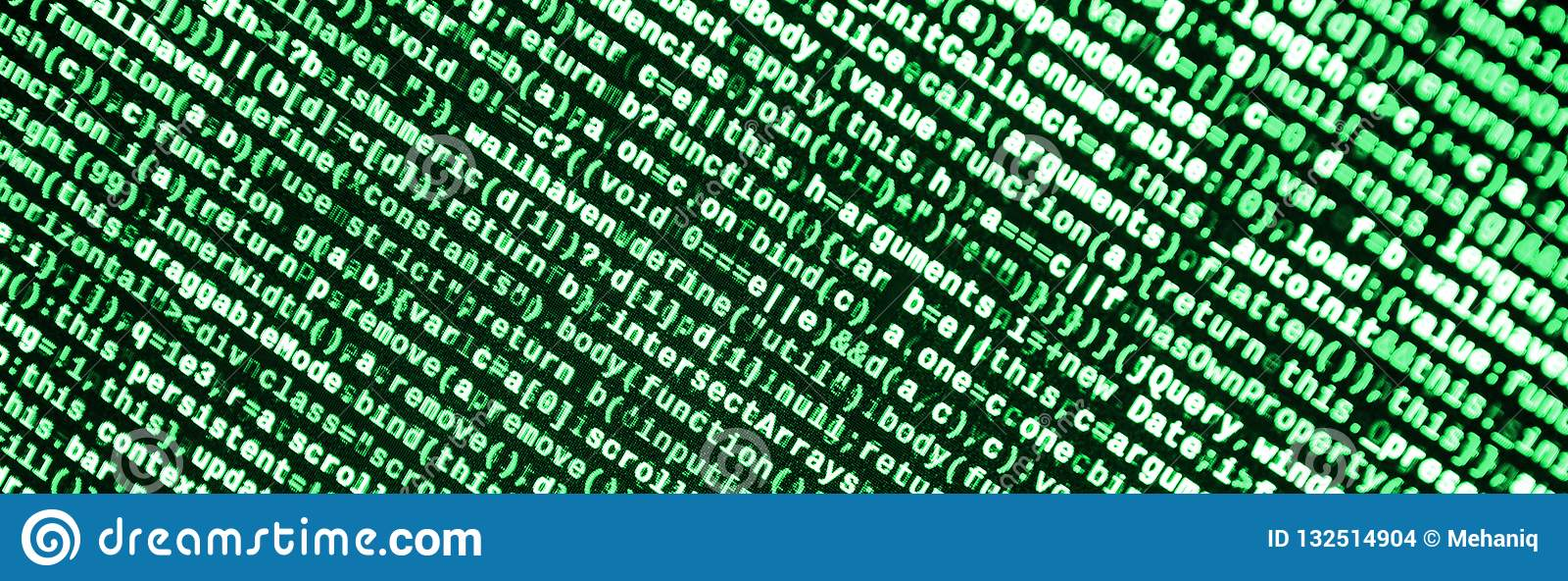 Javascriptfunktionen, Variablen, Gegenstände Überwachen Sie Nahaufnahme des Funktionsquellcodes IT-Fachmann-Arbeitsplatz