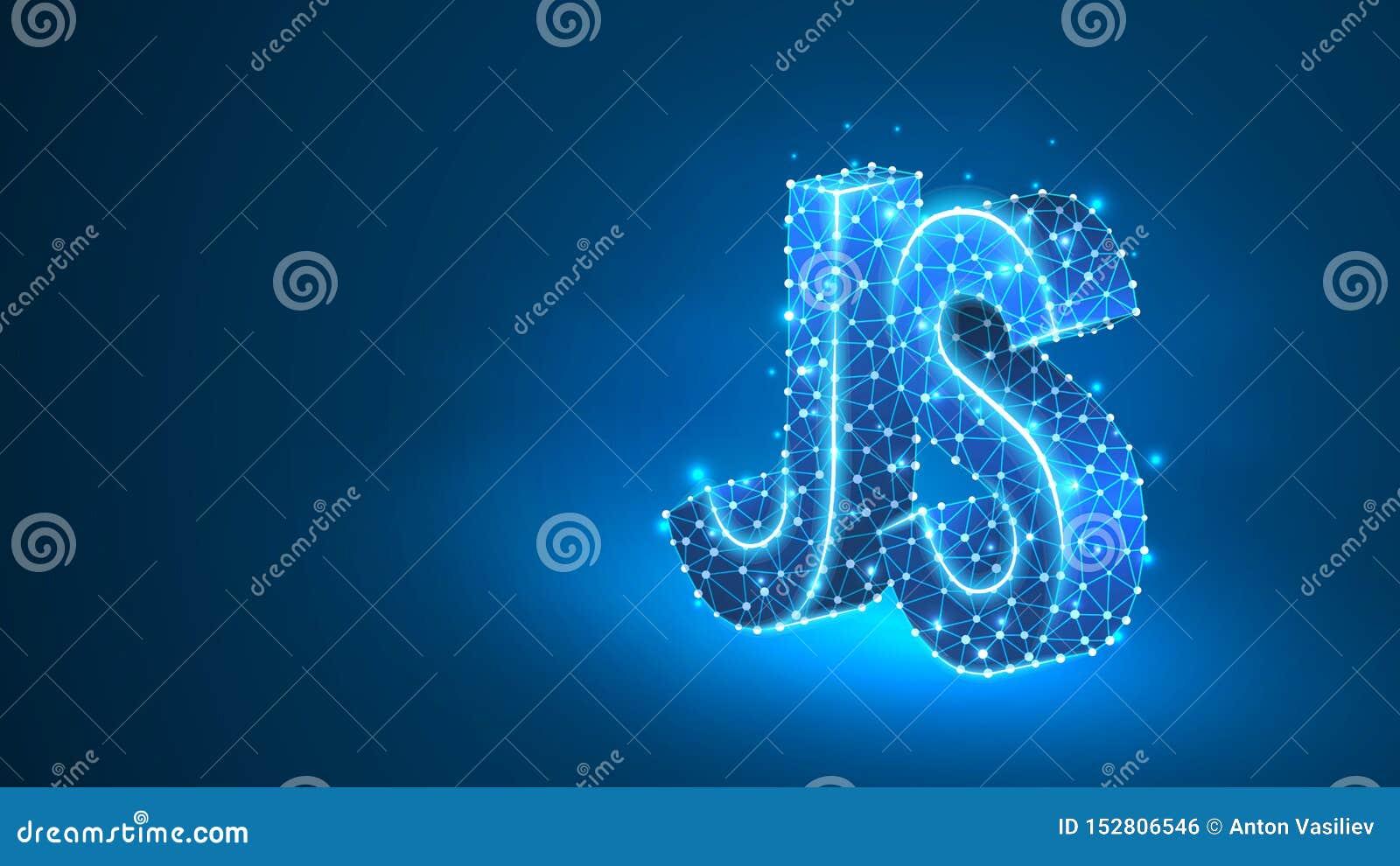 Jawa pisma cyfrowania języka tekst Przyrz?d, programowanie, rozwija poj?cie Abstrakt, cyfrowy, wireframe, niska poli- siatka, wek