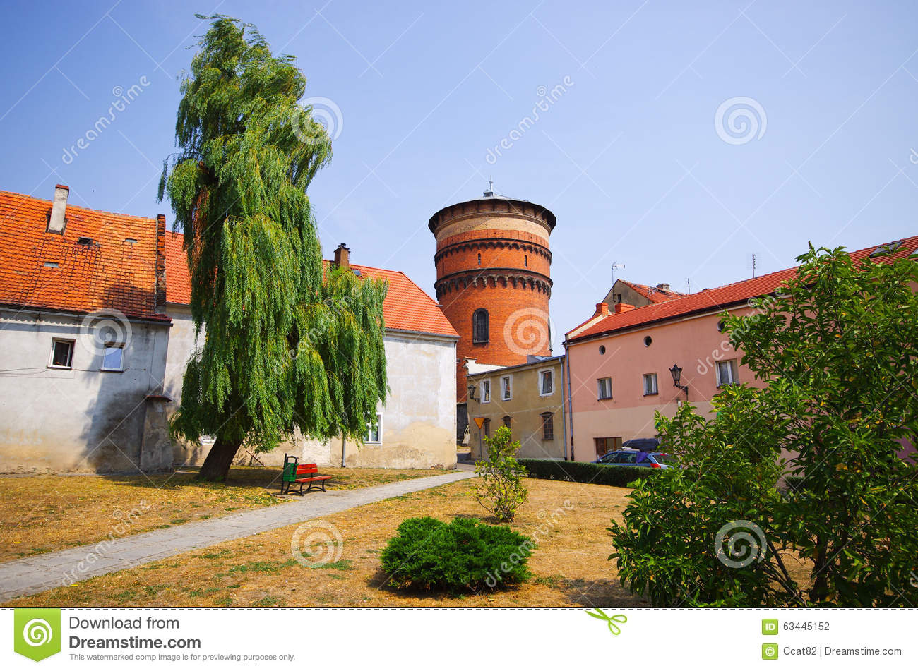 Jawor town in Poland