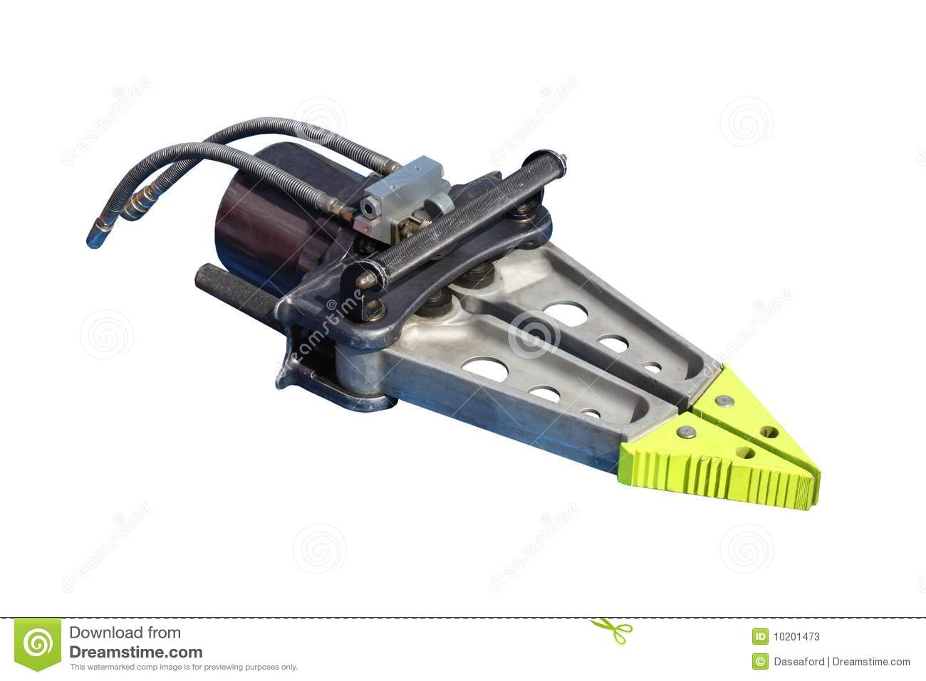 Jaws Of Life Stock Image Image Of Hydraulic Jaws Metal 10201473