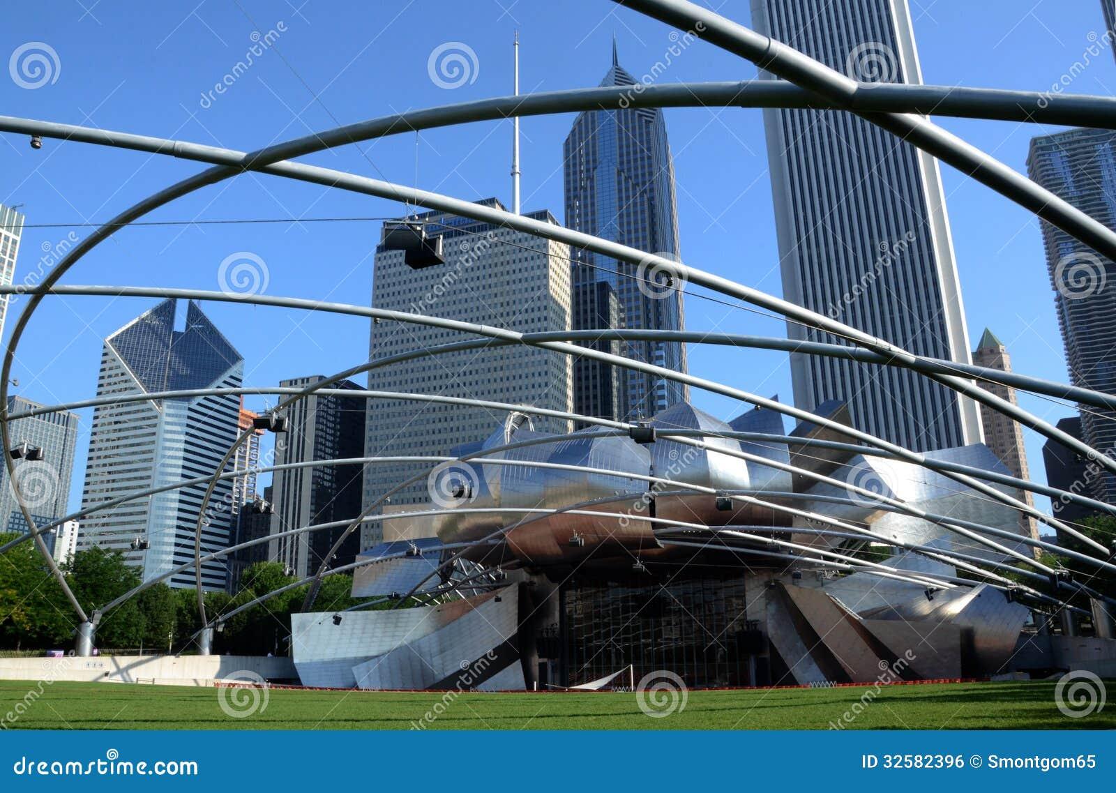 CHICAGO - JULY ... Jaypritzkerpavilion