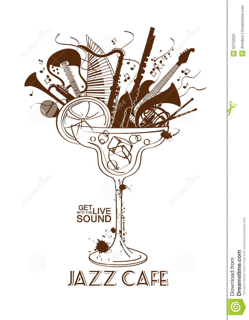 Sax Blues And Jazz Cafe