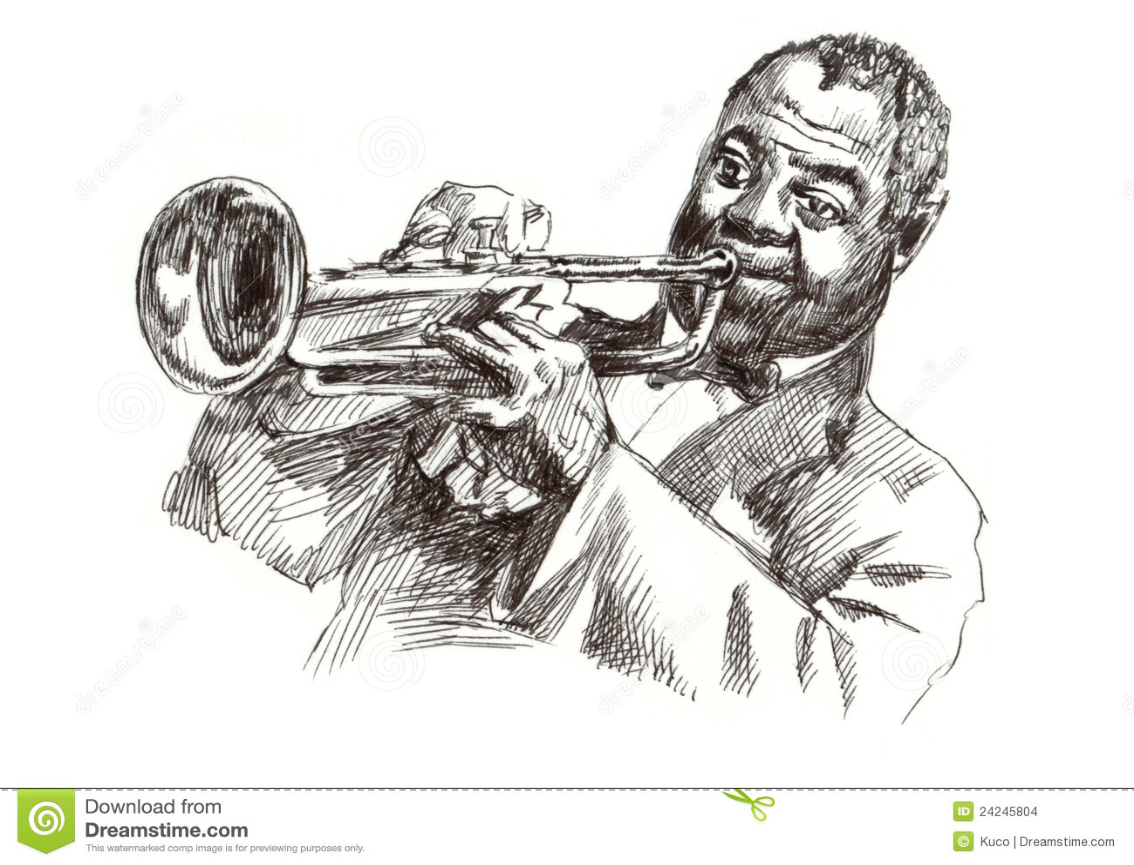 Musical instruments  Art  Illustration  Jazz