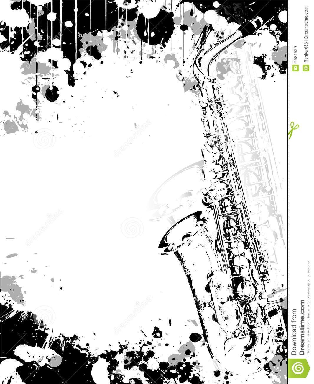 Jazz Poster Background Royalty Free Stock Images - Image: 9581529