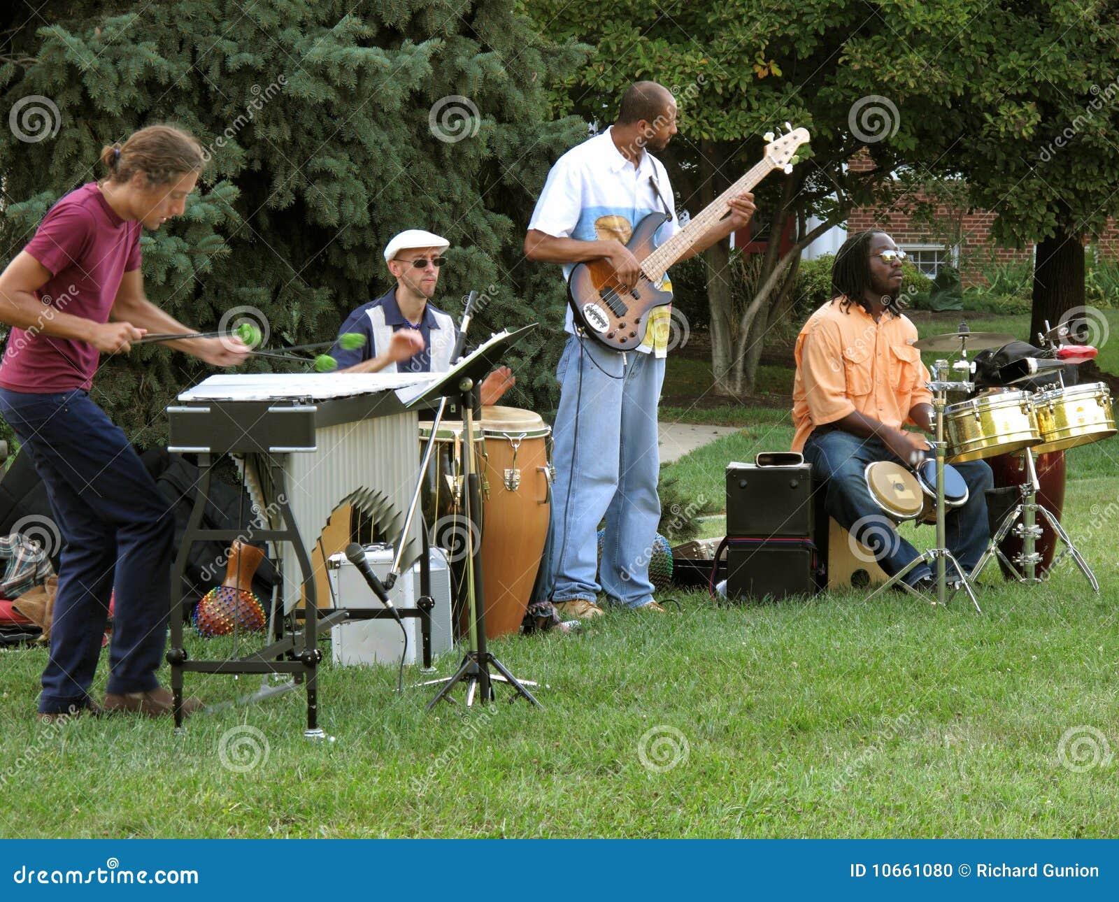 Jazz Quartet Editorial Image Image 10661080