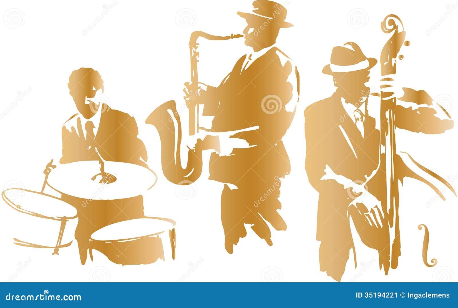 Stock Image: Jazz Trio. Image: 35194221