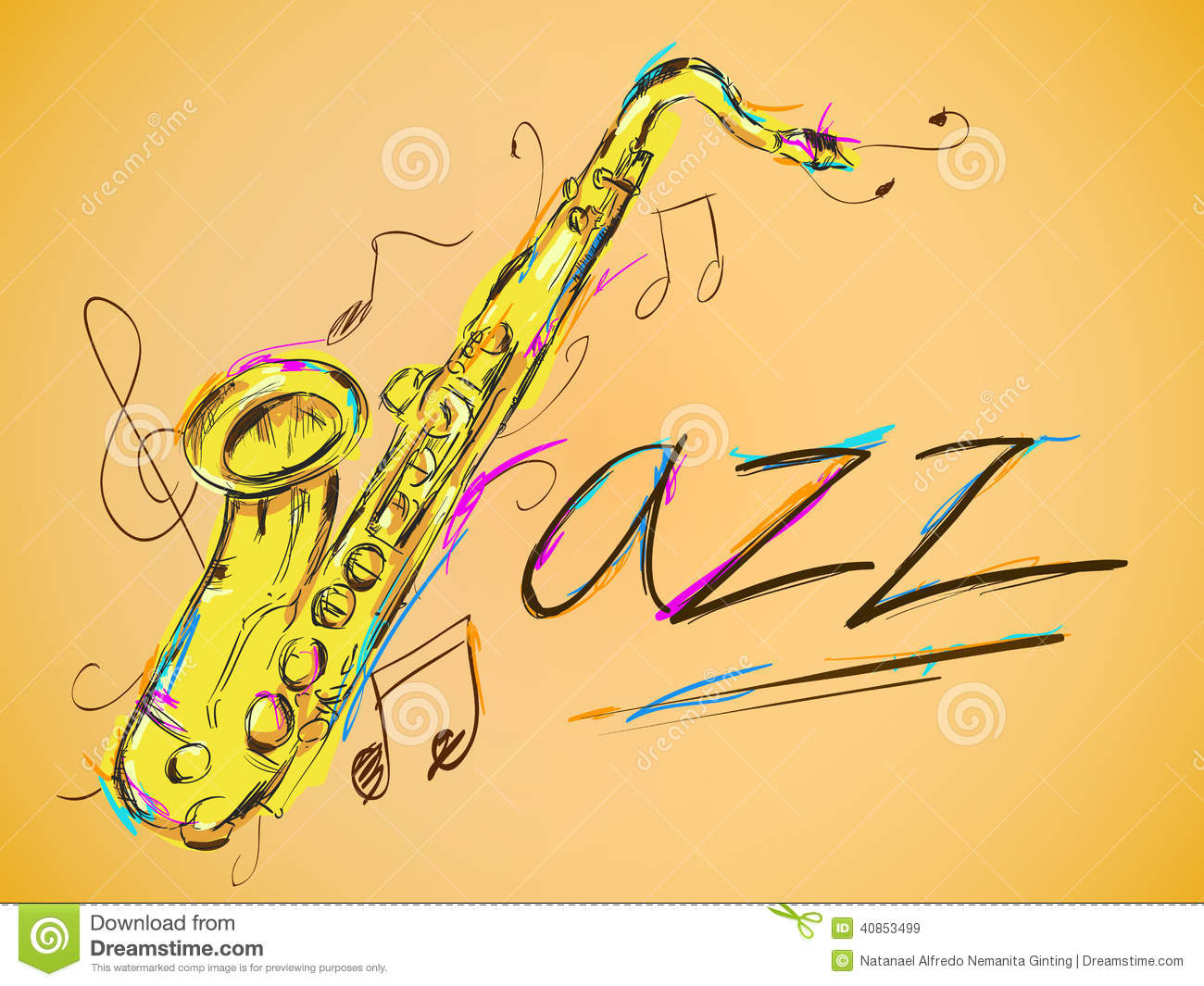 Jazz Vector Art Ginting