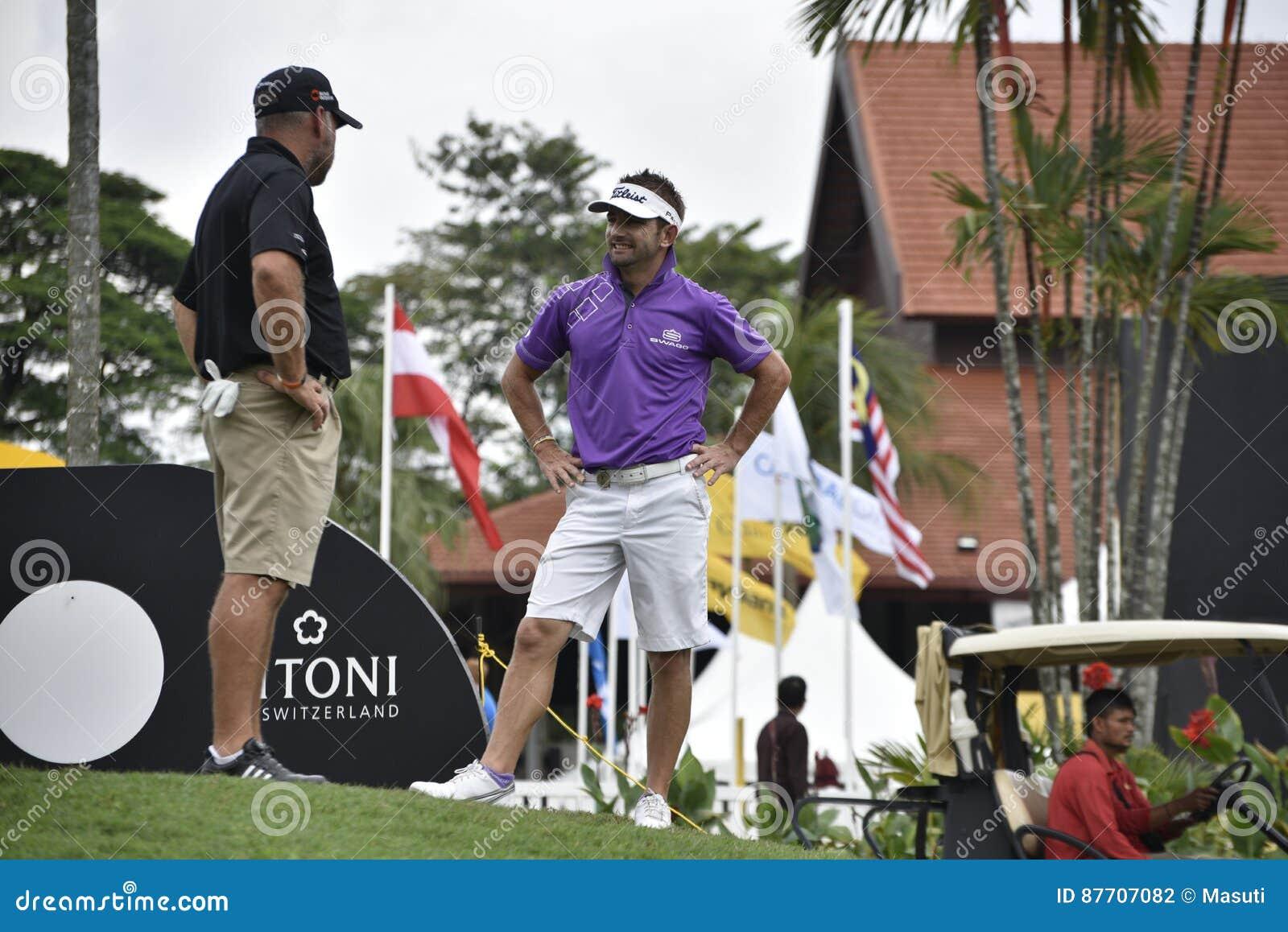 JBE Kruger, golfeur de l Afrique du Sud
