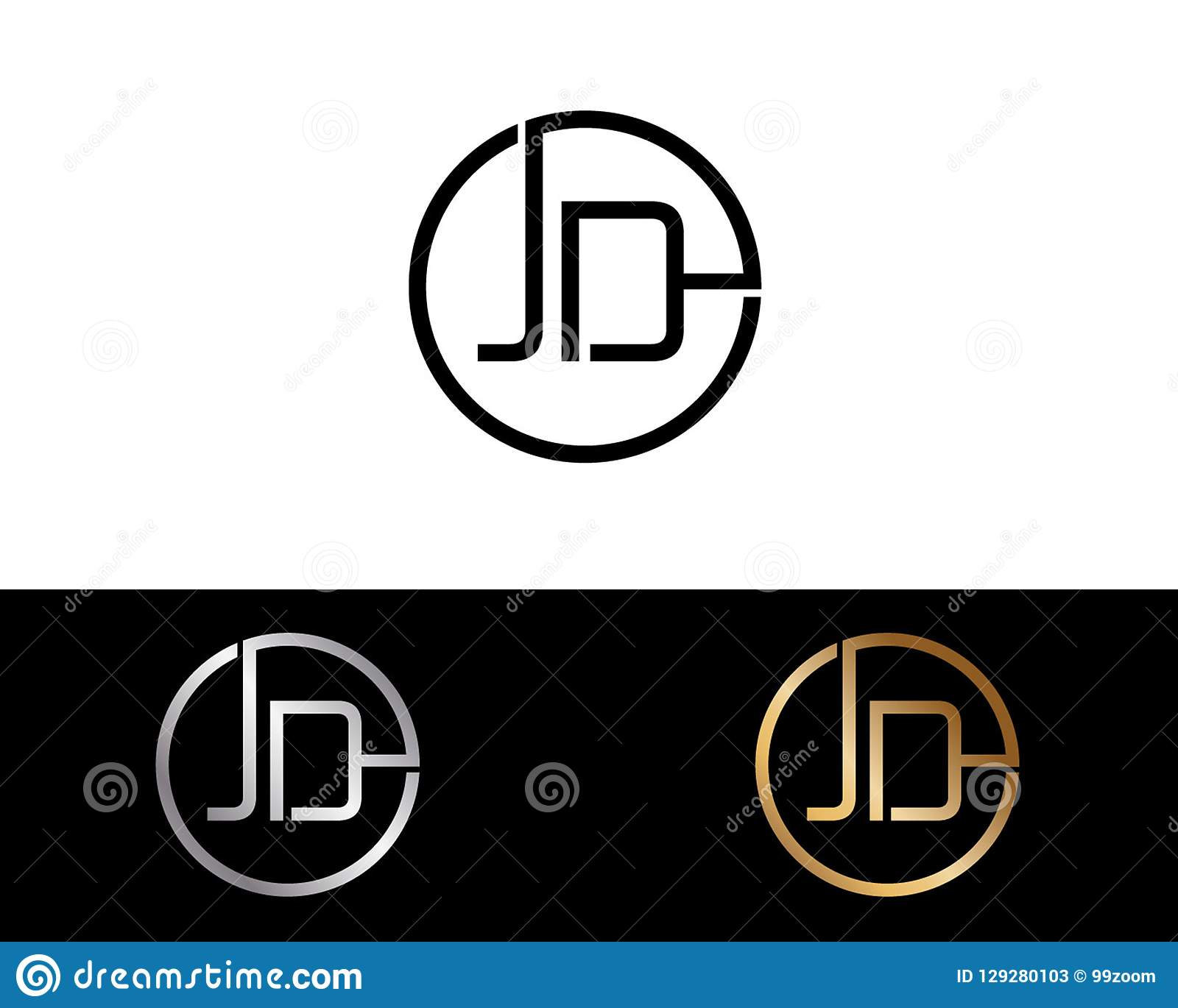 jd circle shape letter logo design stock vector illustration of clinical designn 129280103 https www dreamstime com jd circle shape letter logo design circle shape letter logo type red silver gold black circle letter combination logo design image129280103
