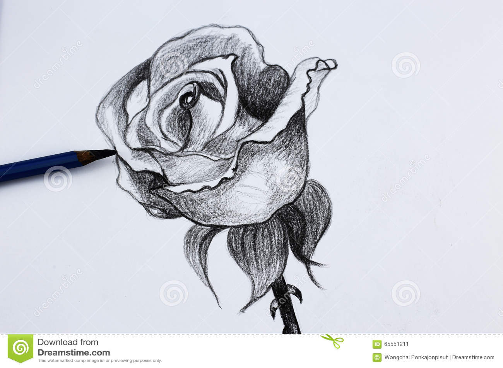 Dessin Crayon Fleur Gobelune