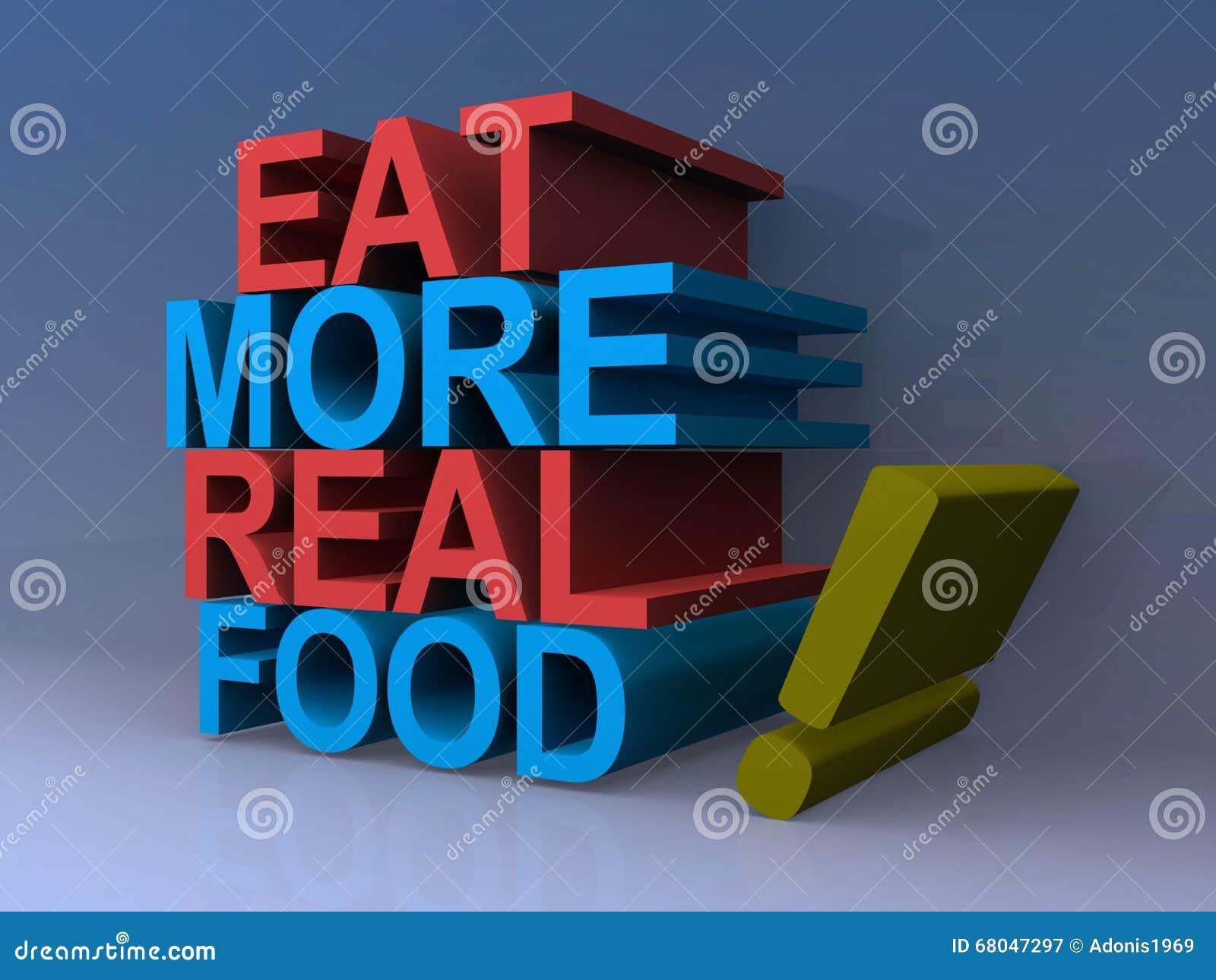 Je istnego jedzenie