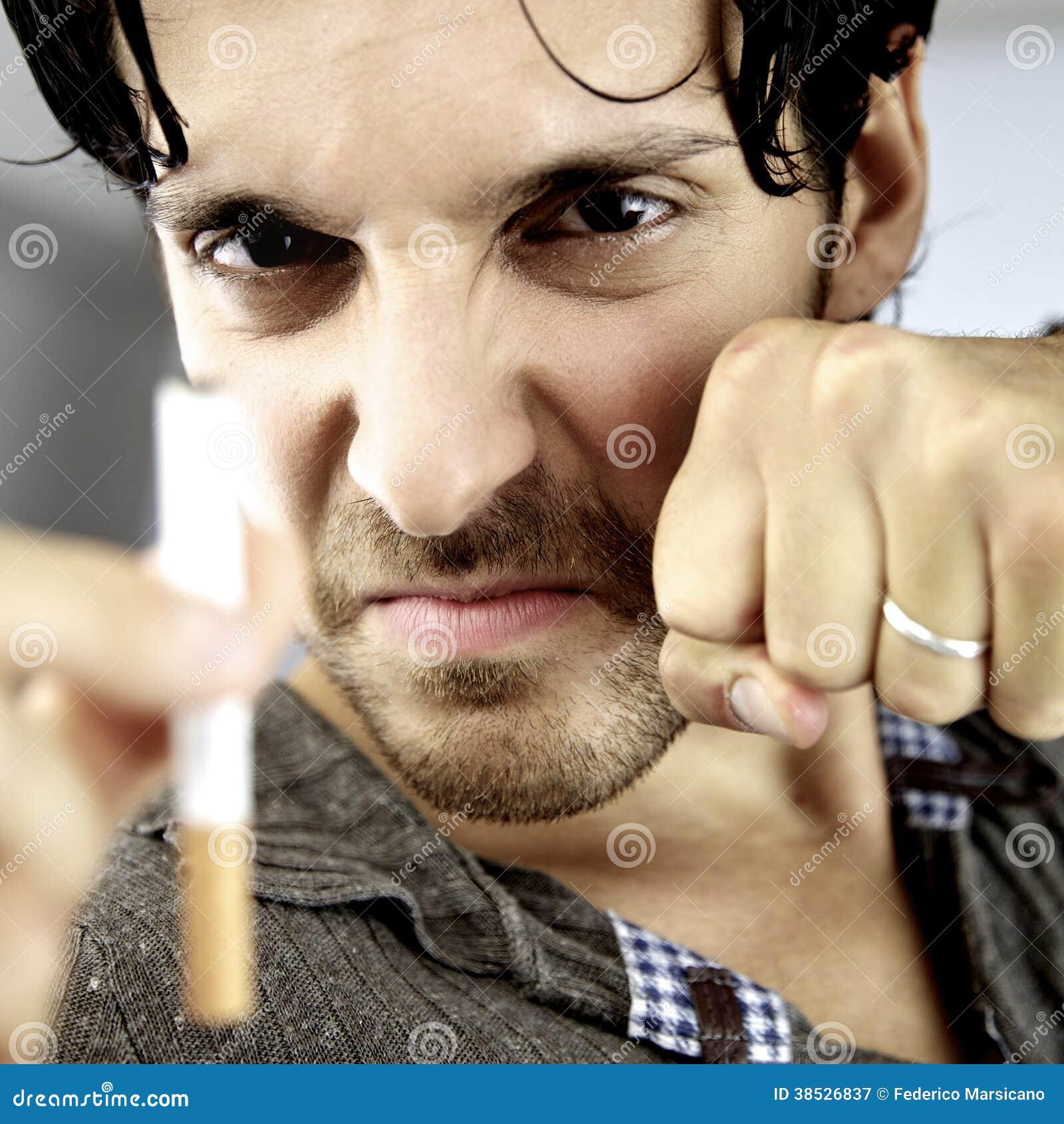Je lutterai ma bataille contre le cancer que je cesserai le tabagisme