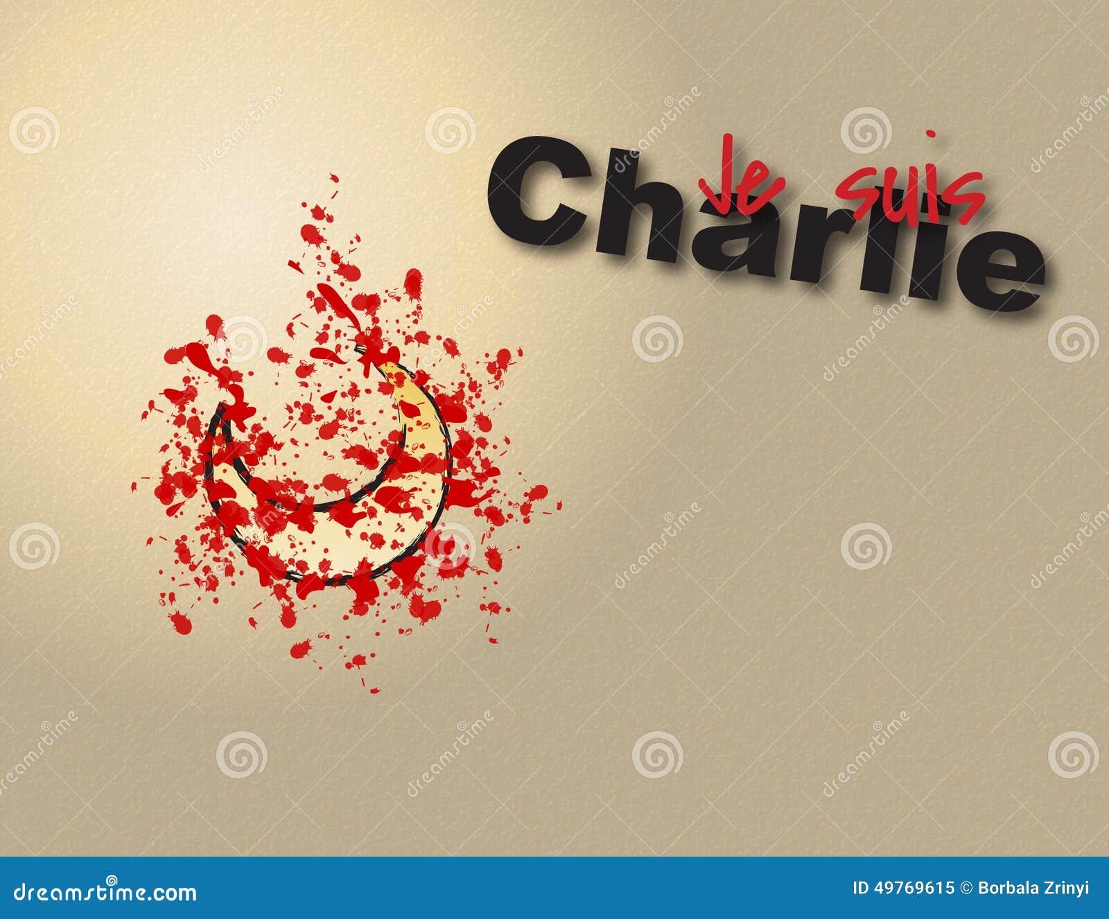 Je Suis Charlie  Vector Graphic Illustration For Je Suis