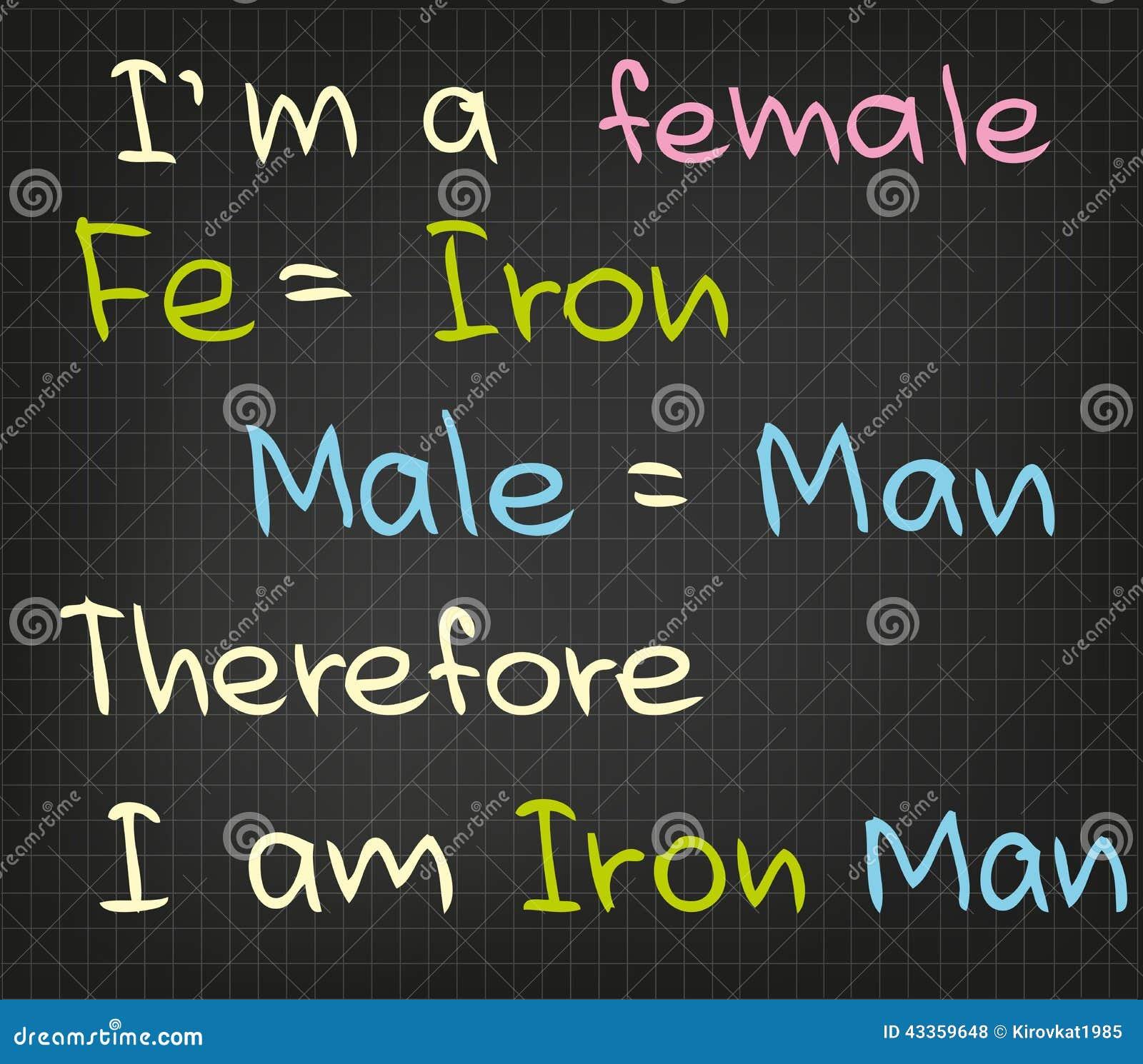 Je suis femelle