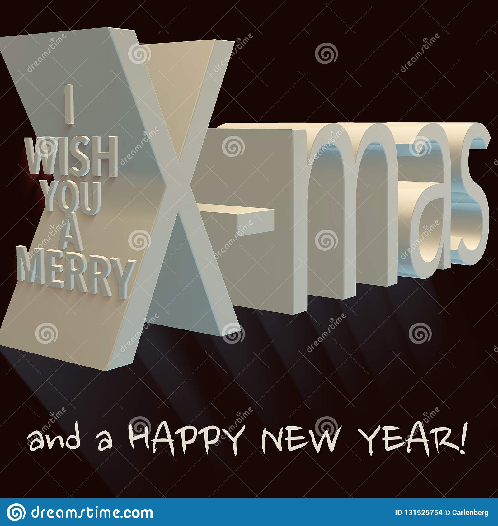 Je te souhaite joyeux Noël et une bonne année
