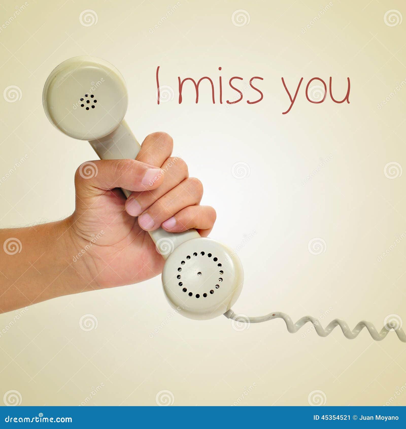 Je vous manque