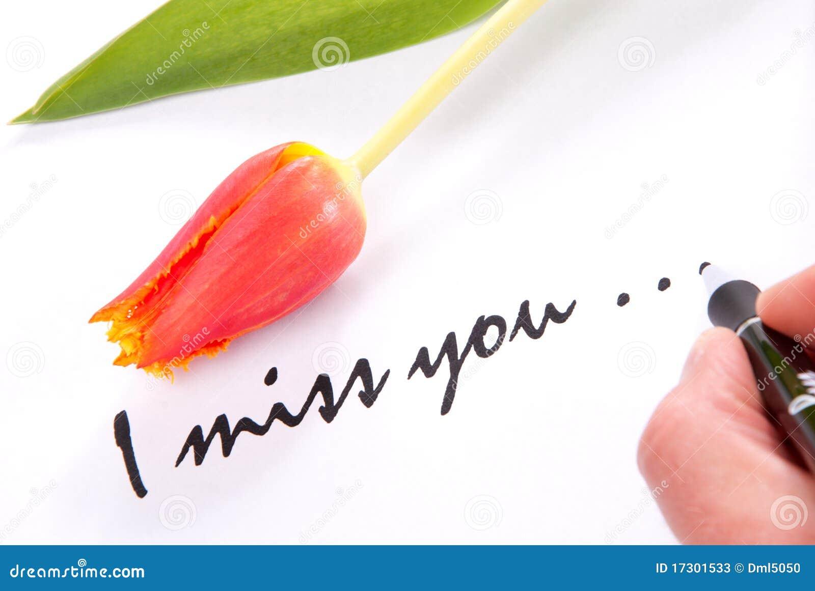 Je vous manque amour