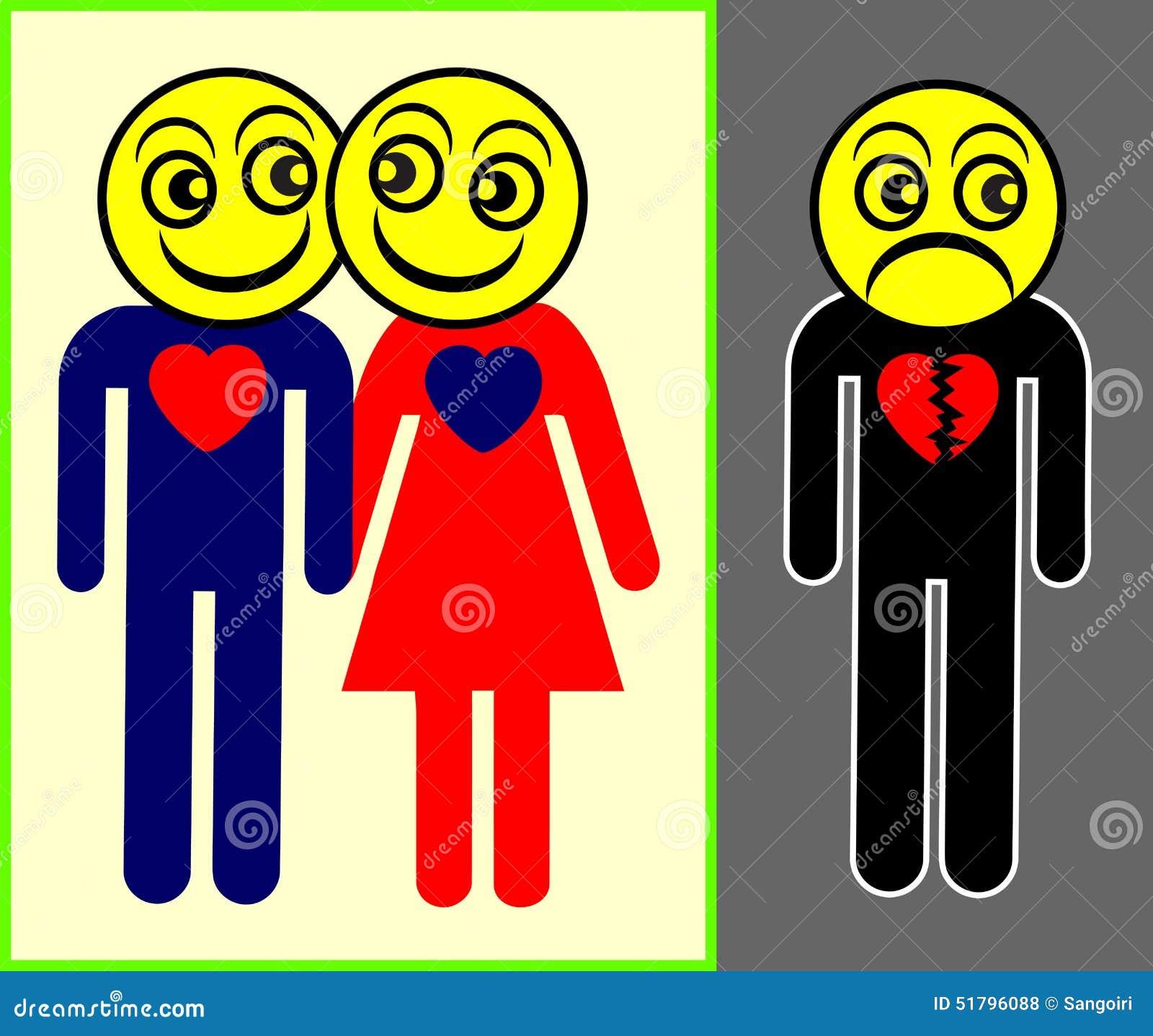 Jealousy stock illustration  Illustration of disorder - 51796088