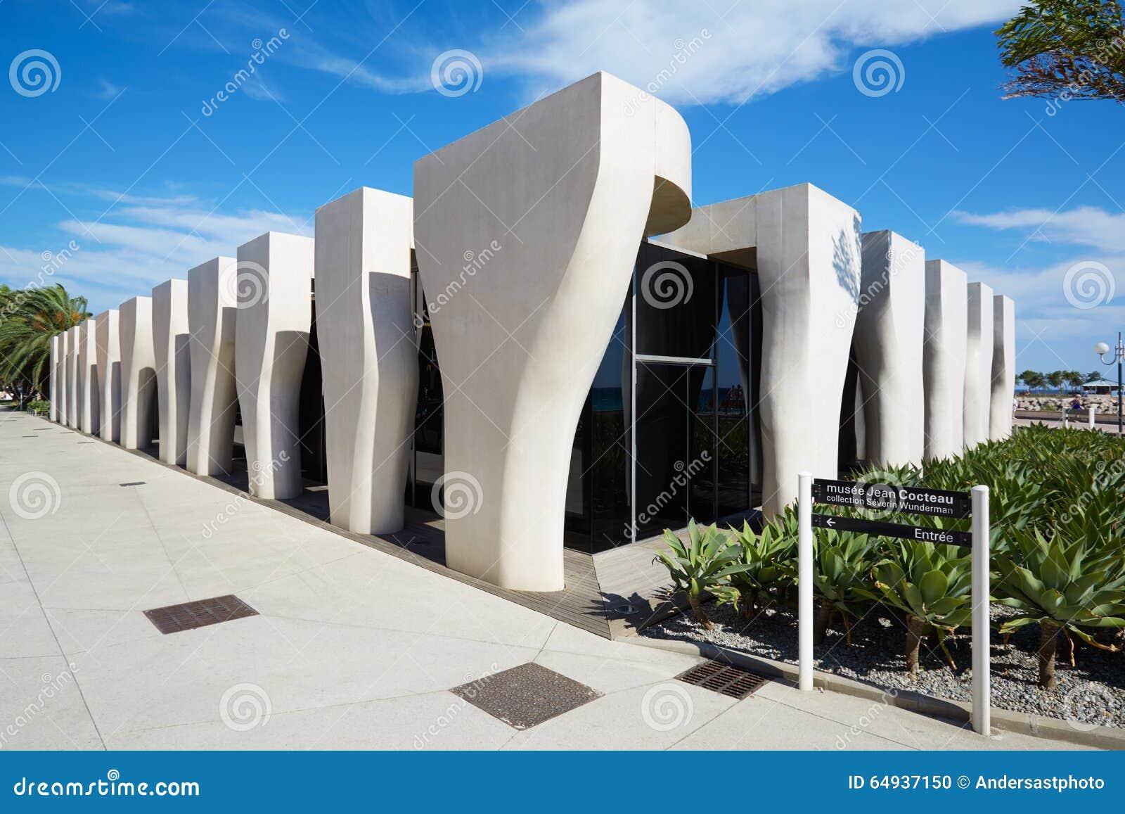 Jean Cocteau Museum, Zeitgenössische Architektur, Menton ...