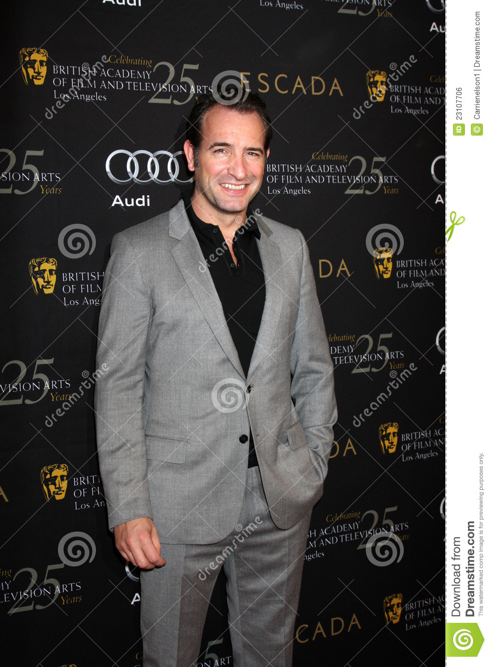 Jean dujardin editorial photo image 23107706 for Jean dujardin bafta