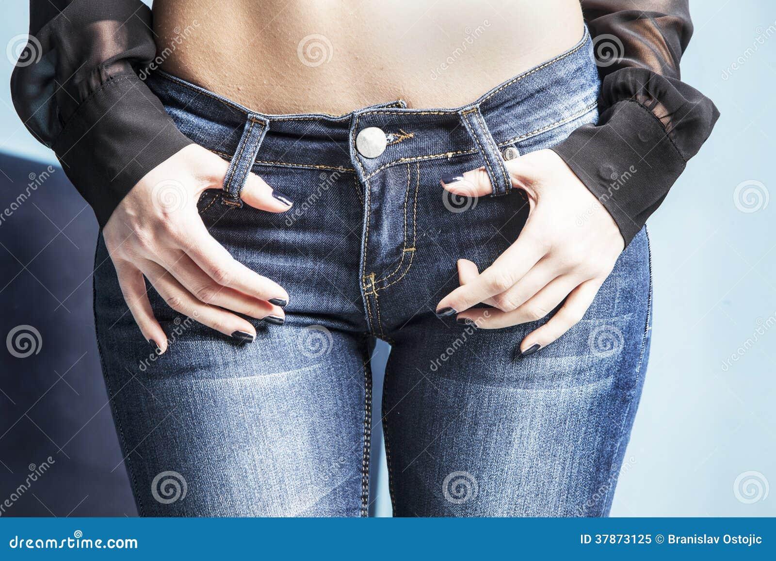 Фото в джинсах из контакта 19 фотография
