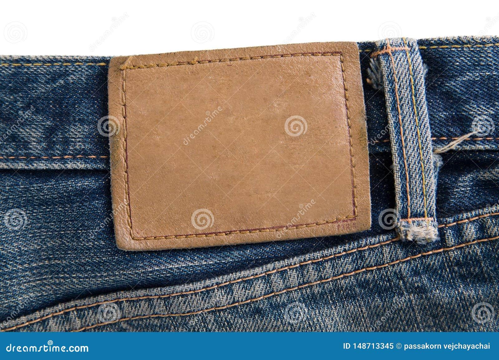 Jeans dell etichetta