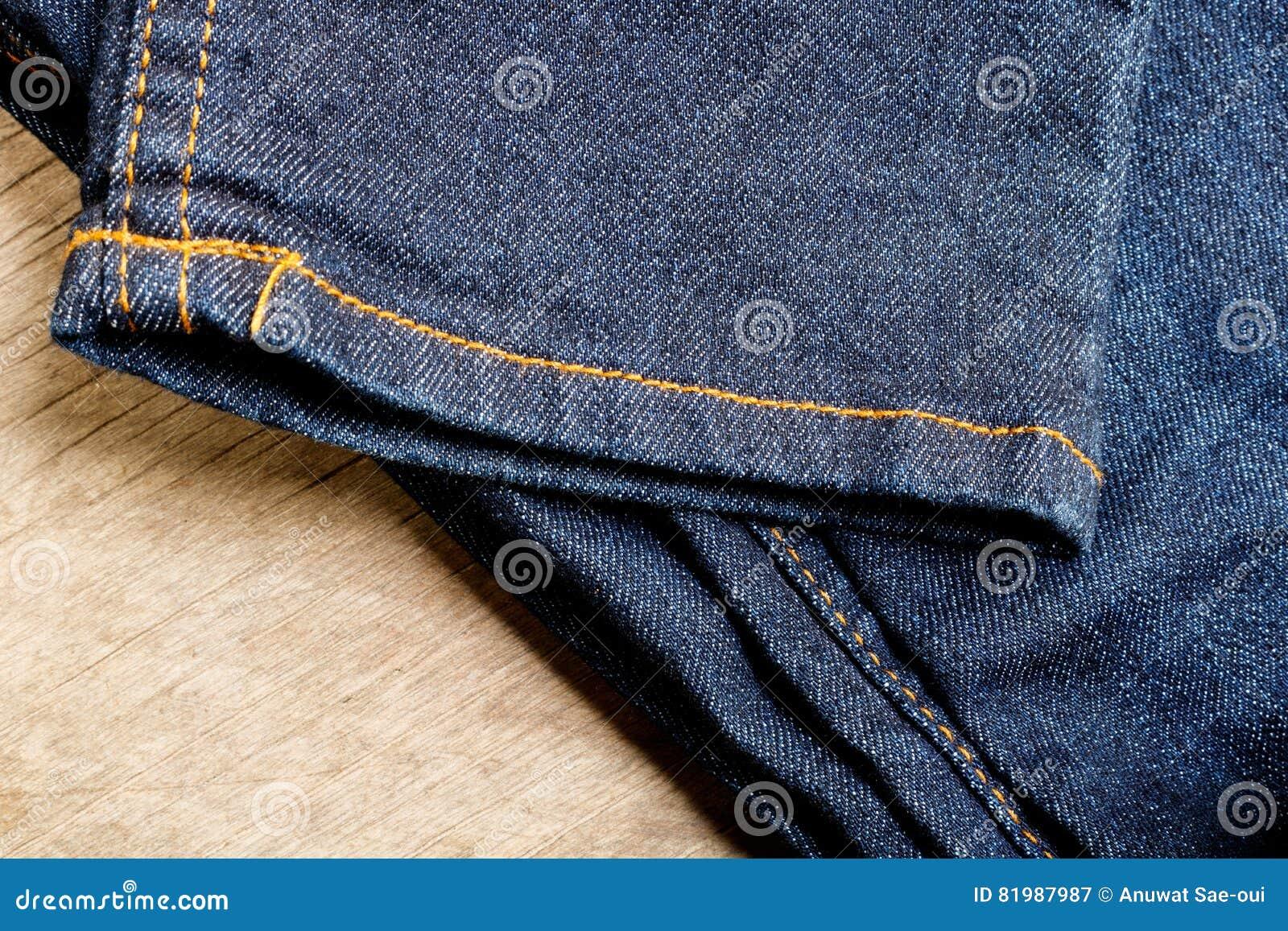 Jeans of denim