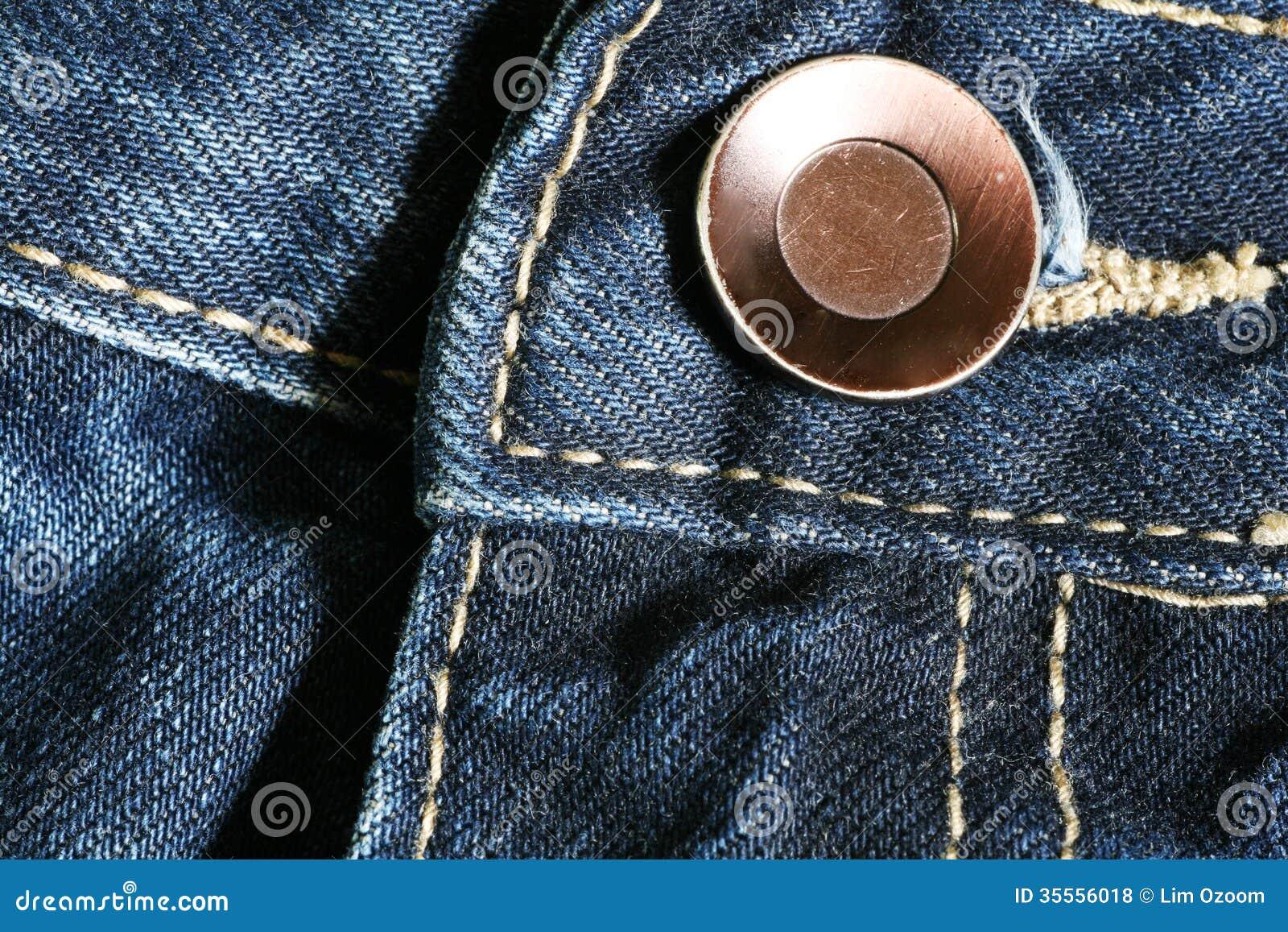 Jeans et bouton