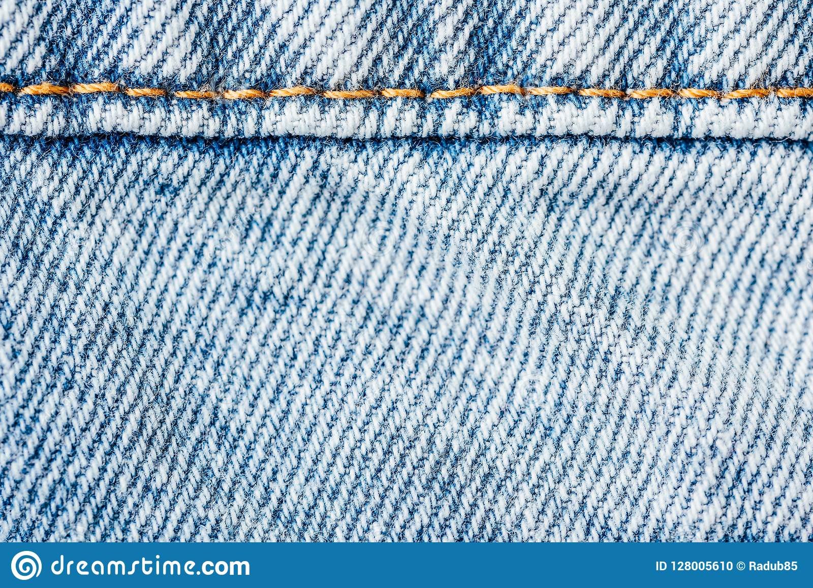 77907080ab7 Jeans Pocket Closeup With Denim Texture Stock Photo - Image of ...