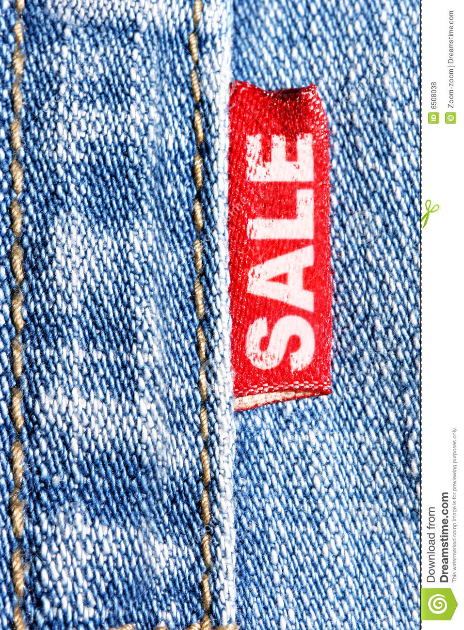 Jeans Sale Royalty Free Stock Photos - Image: 6508038