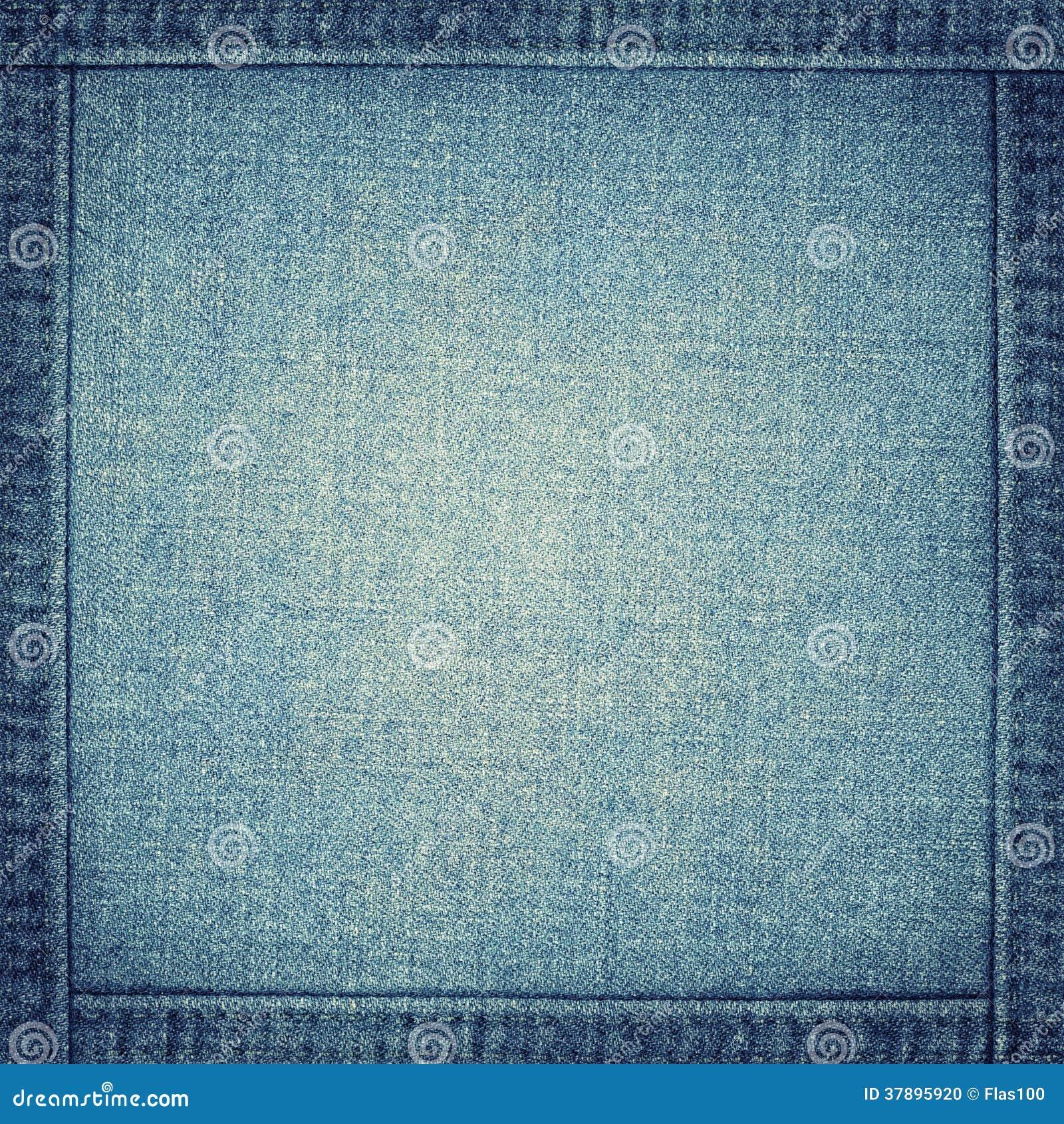 Jeanstextuur met kader