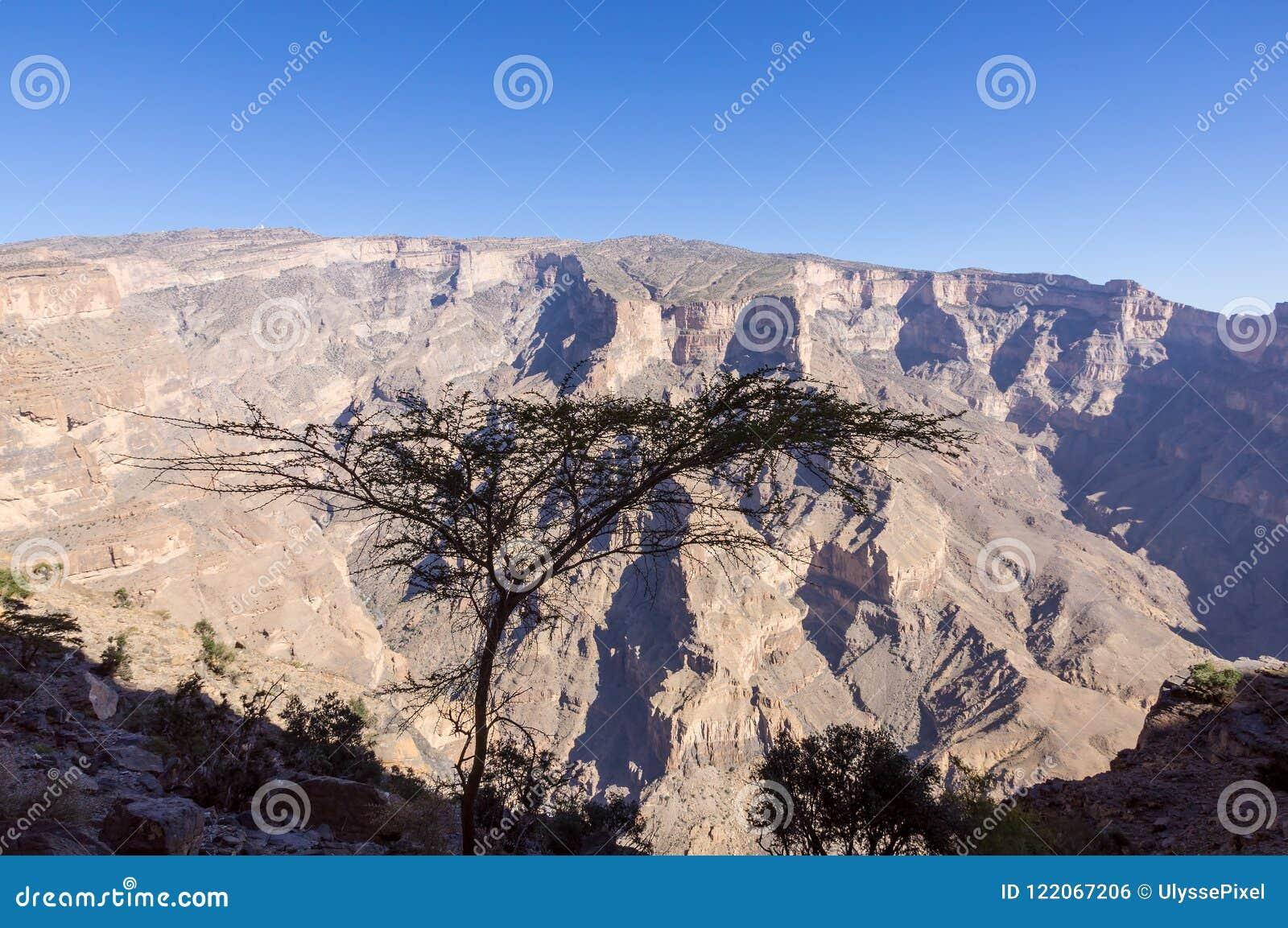 Jebel Shams - Sultanate of Oman