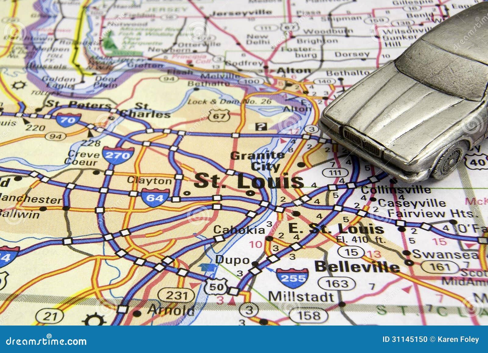 Jechać w St Louis
