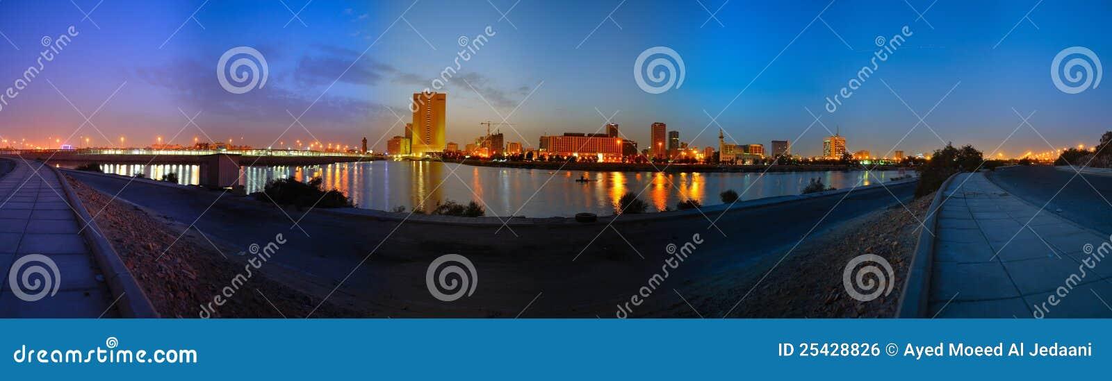 Jeddah downtown at dawn