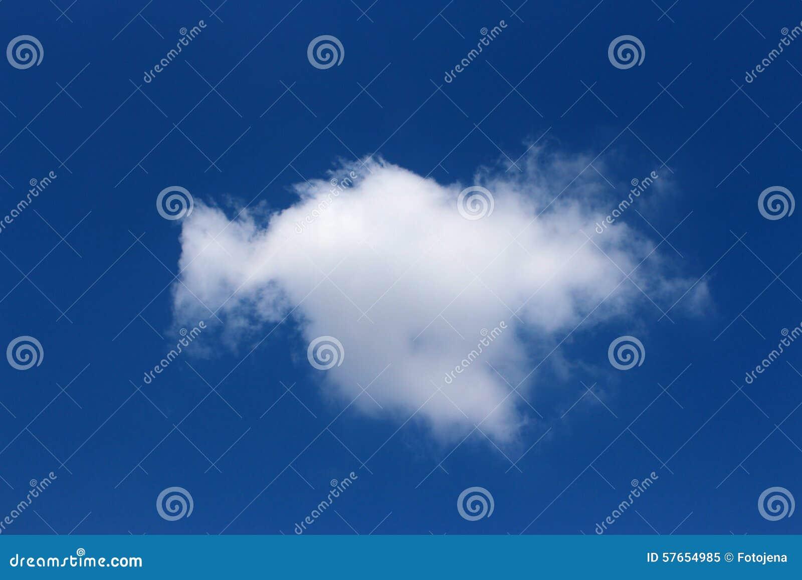 Jeden chmury