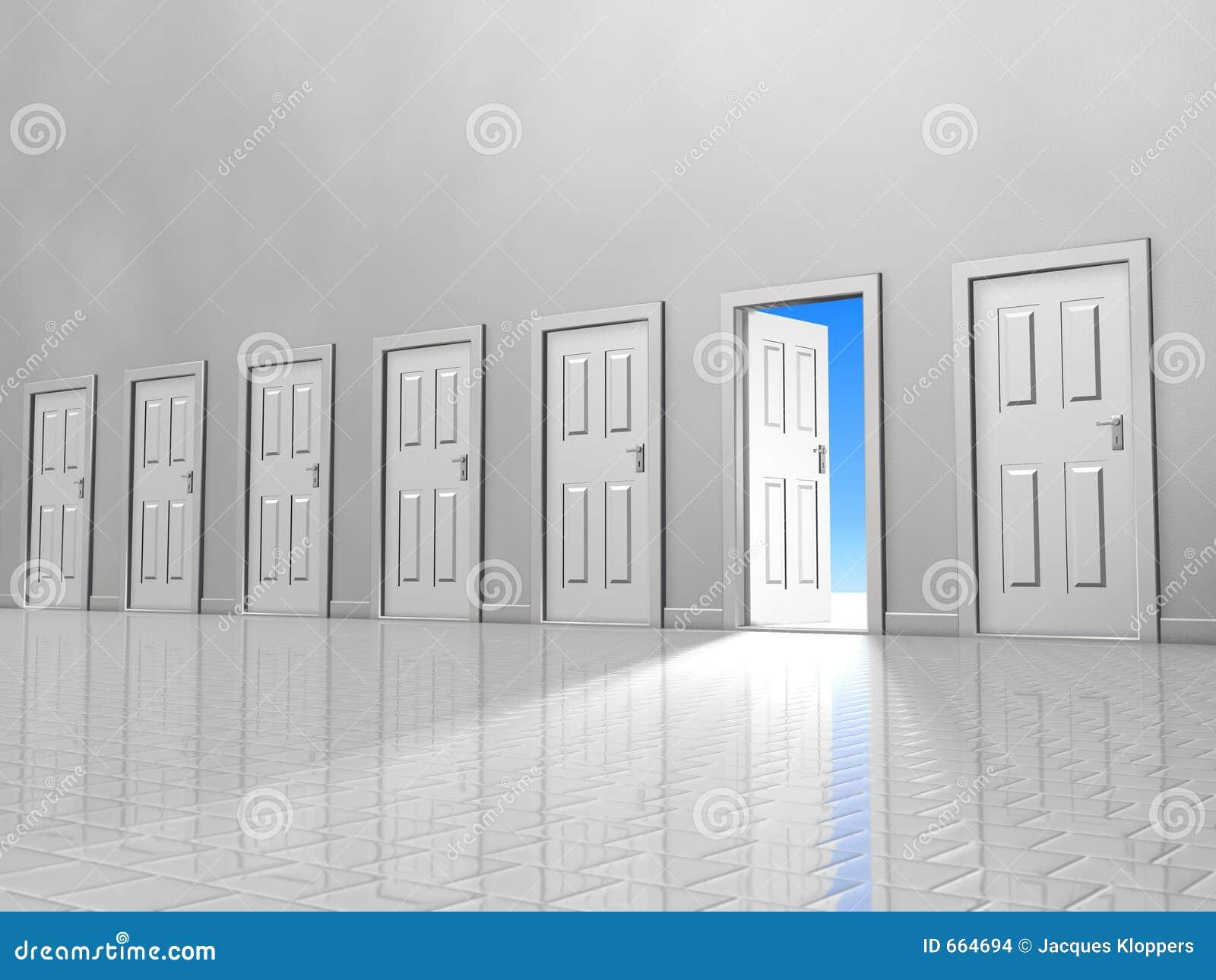 Jeden drzwi