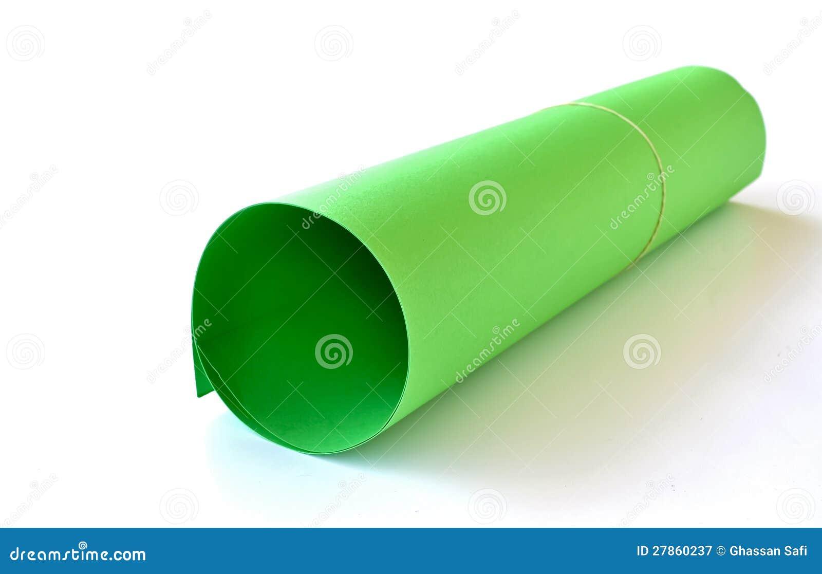 Jeden zielony karton
