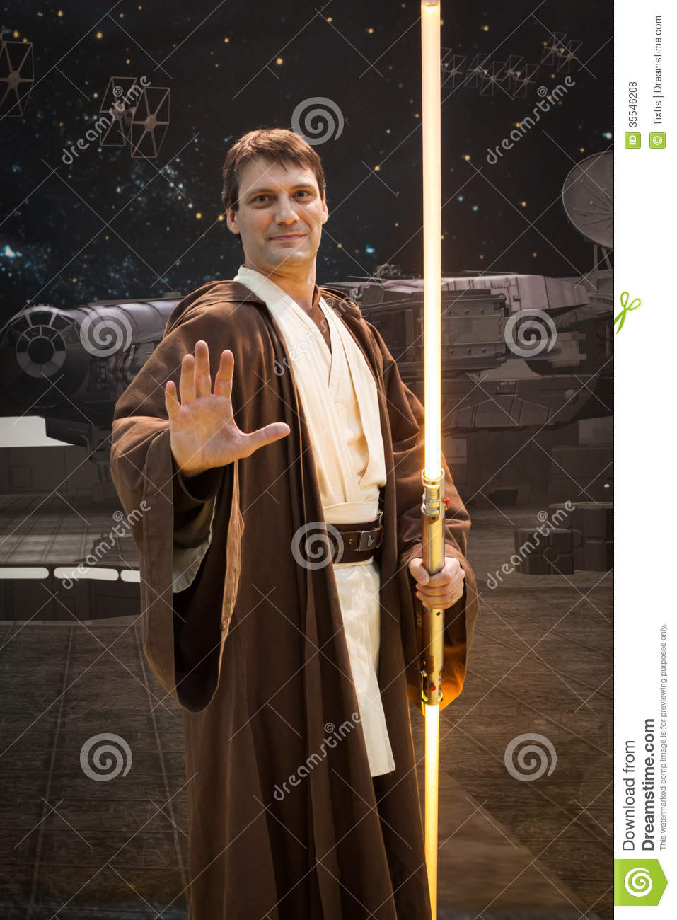 X Exhibition Stand : Jedi cosplay at g come giocare in milan italy editorial