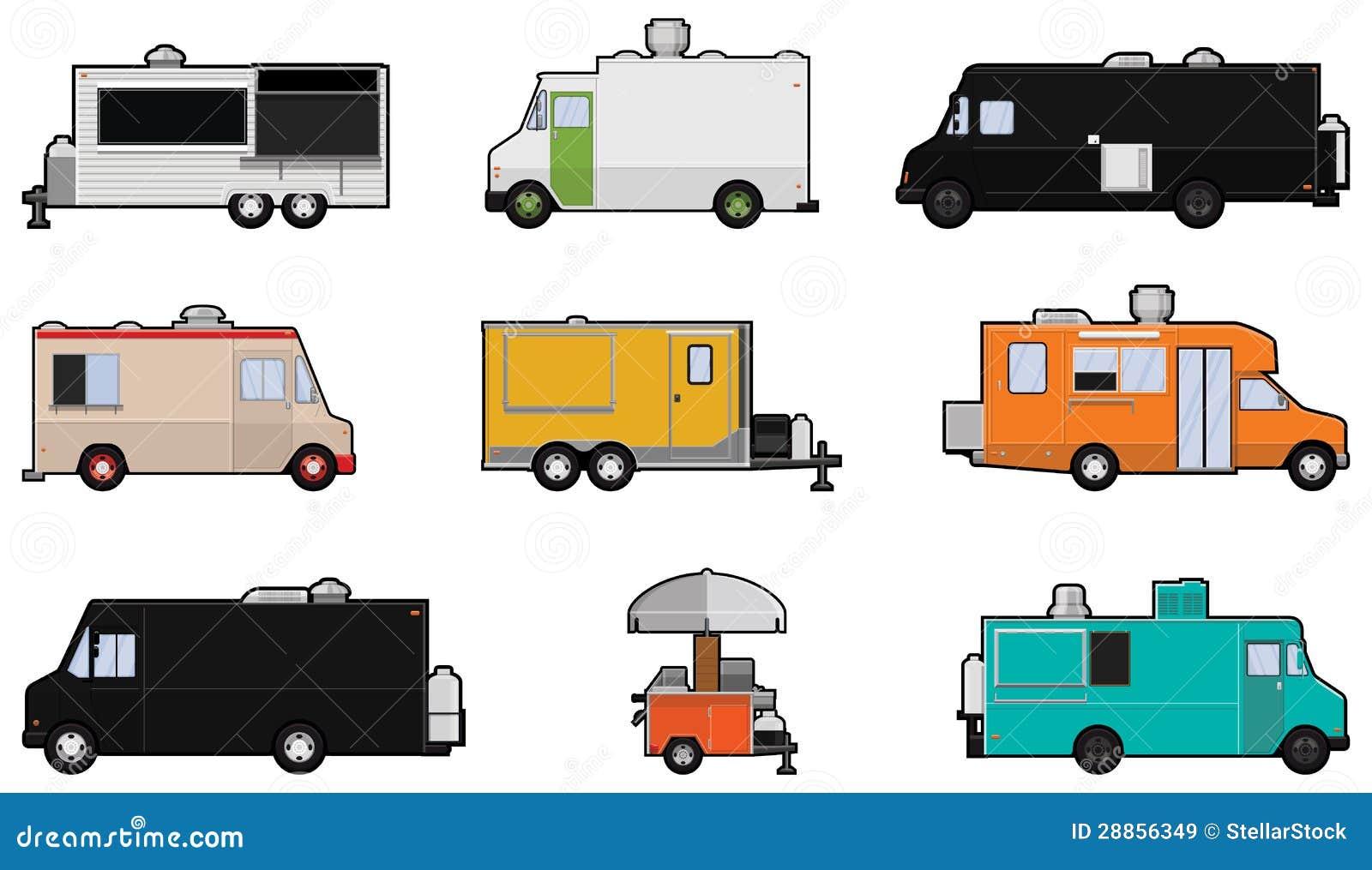 Jedzenie ciężarówki