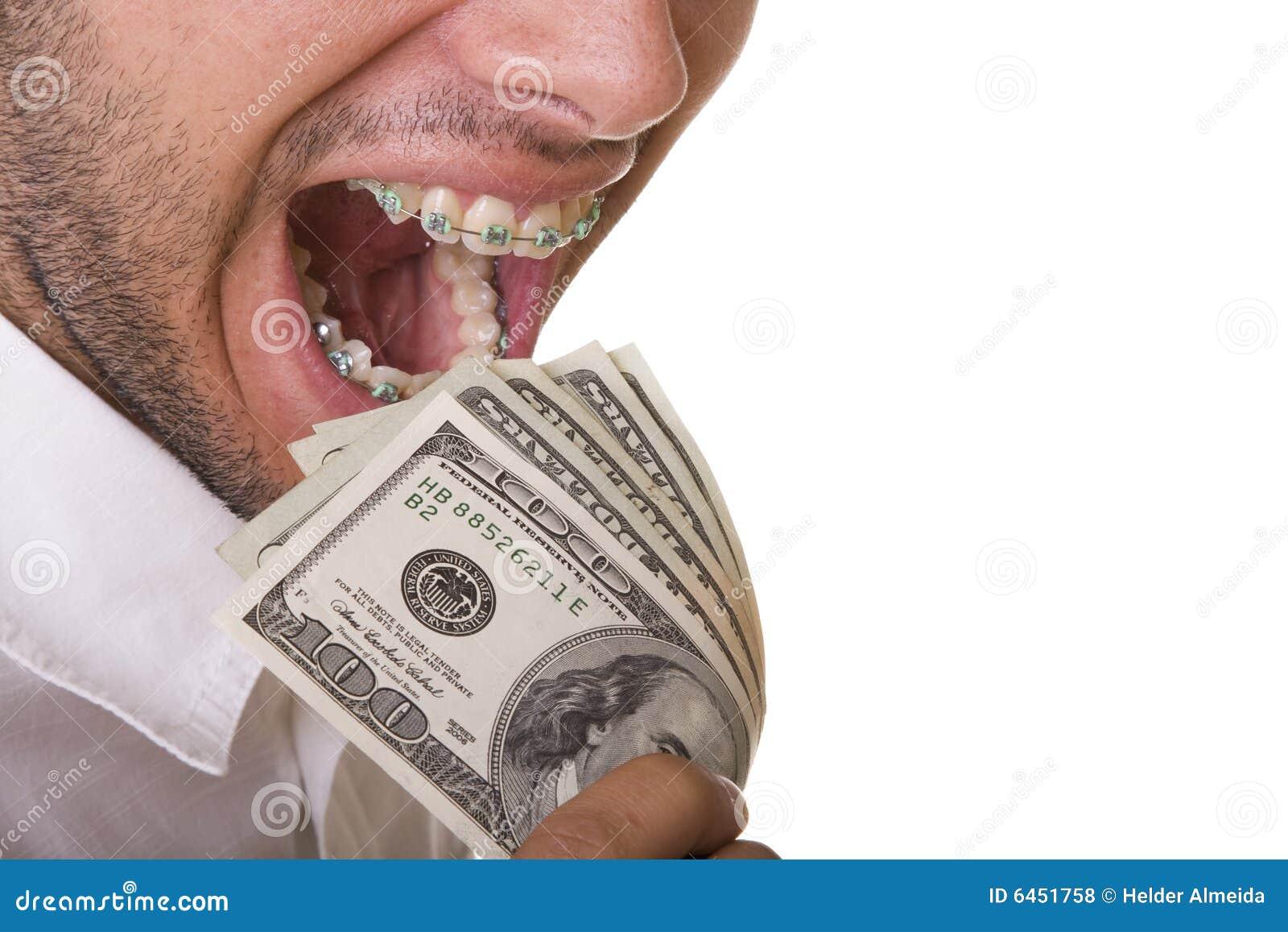 Jedzenie pieniądze