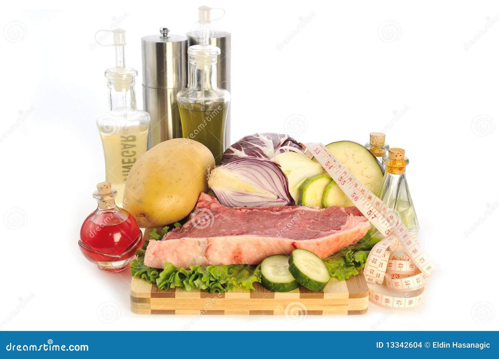 Jedzenie surowy