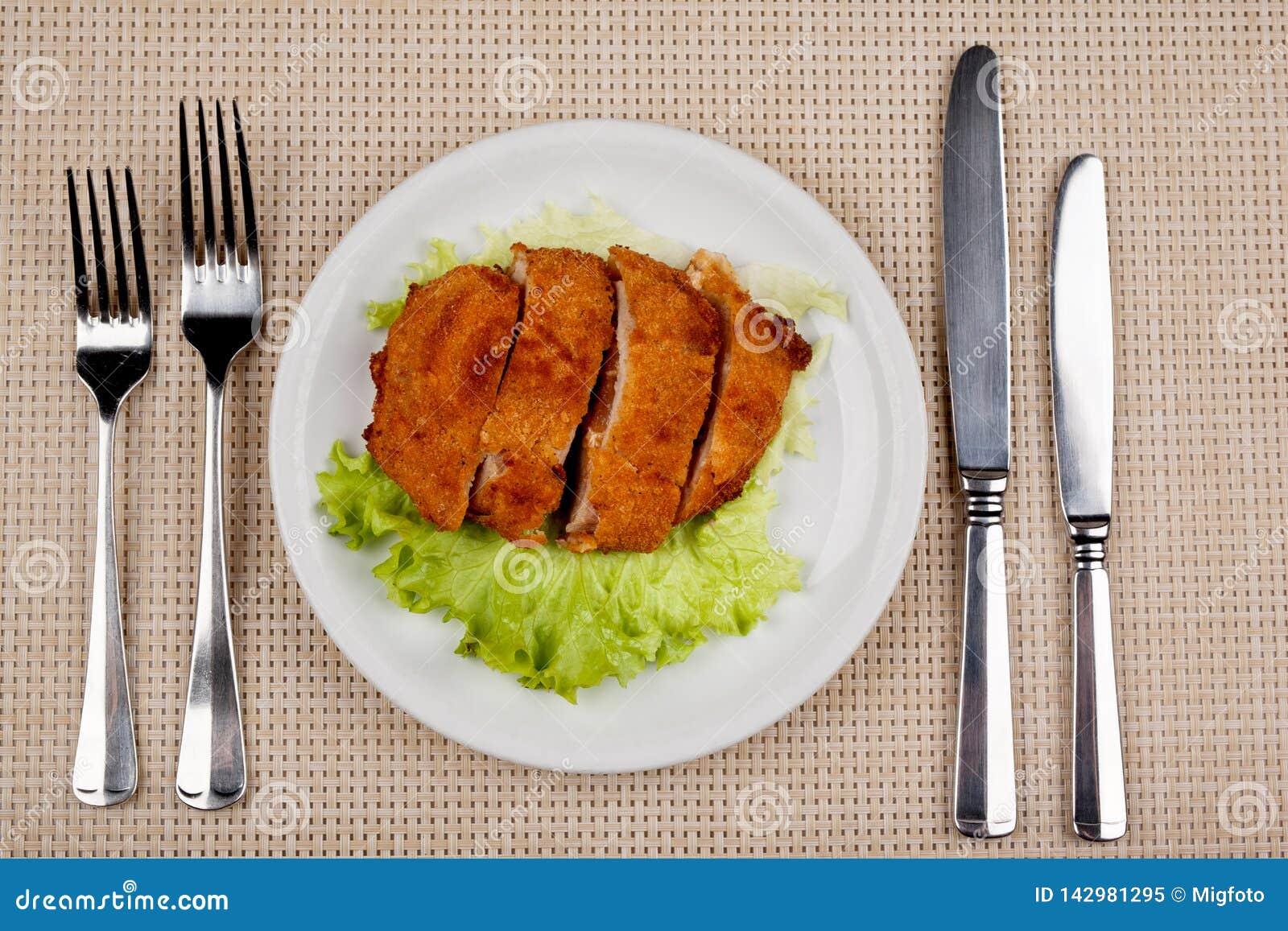Jedzenie w talerzu