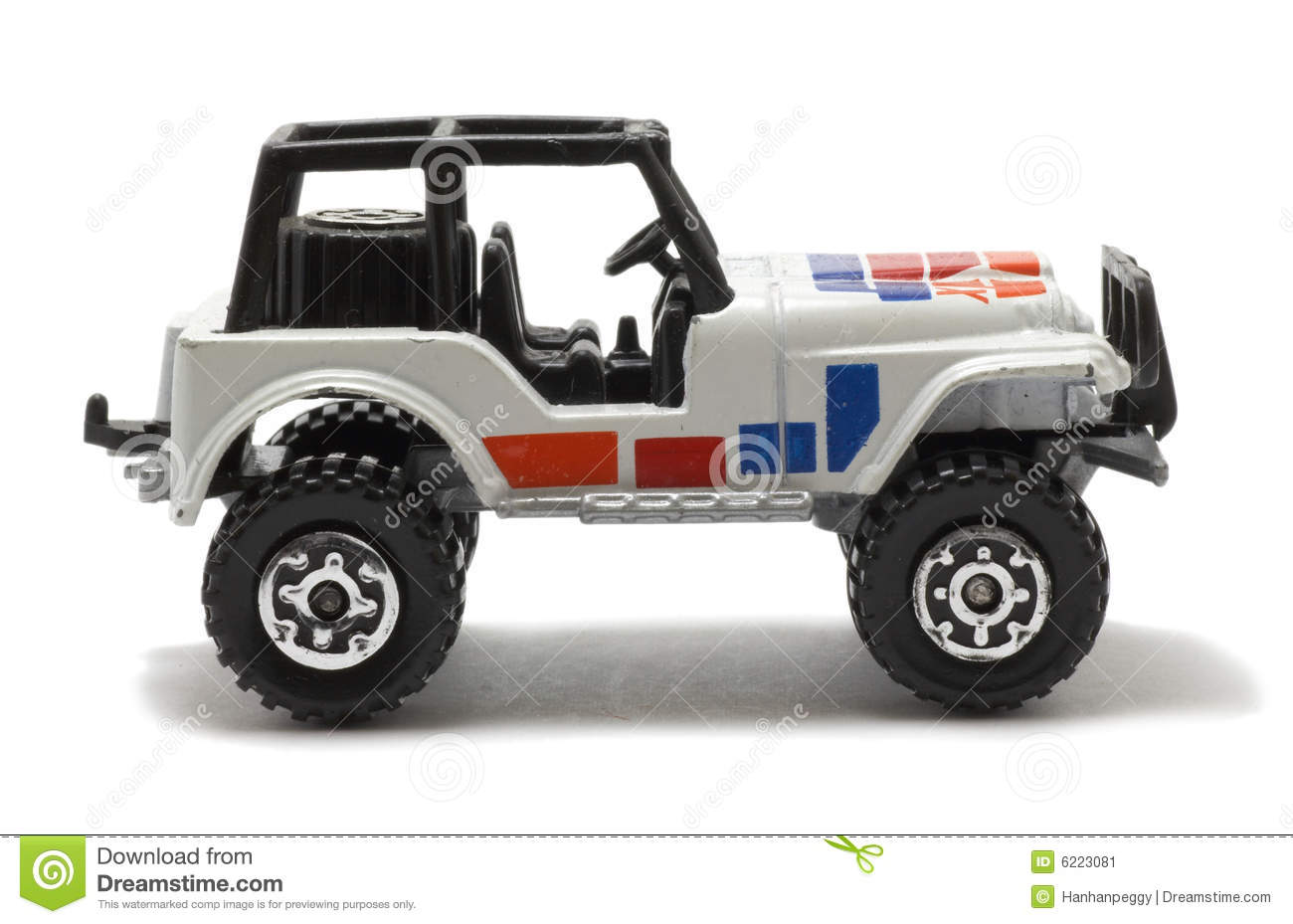Jeep Car Toy Stock Image Image 6223081